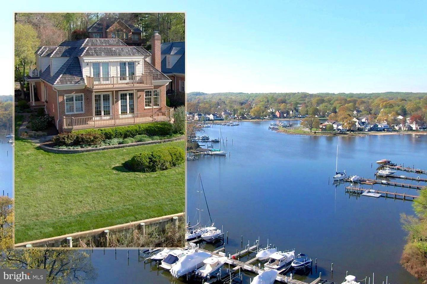 Single Family Homes for Sale at Edgewater, Maryland 21037 United States