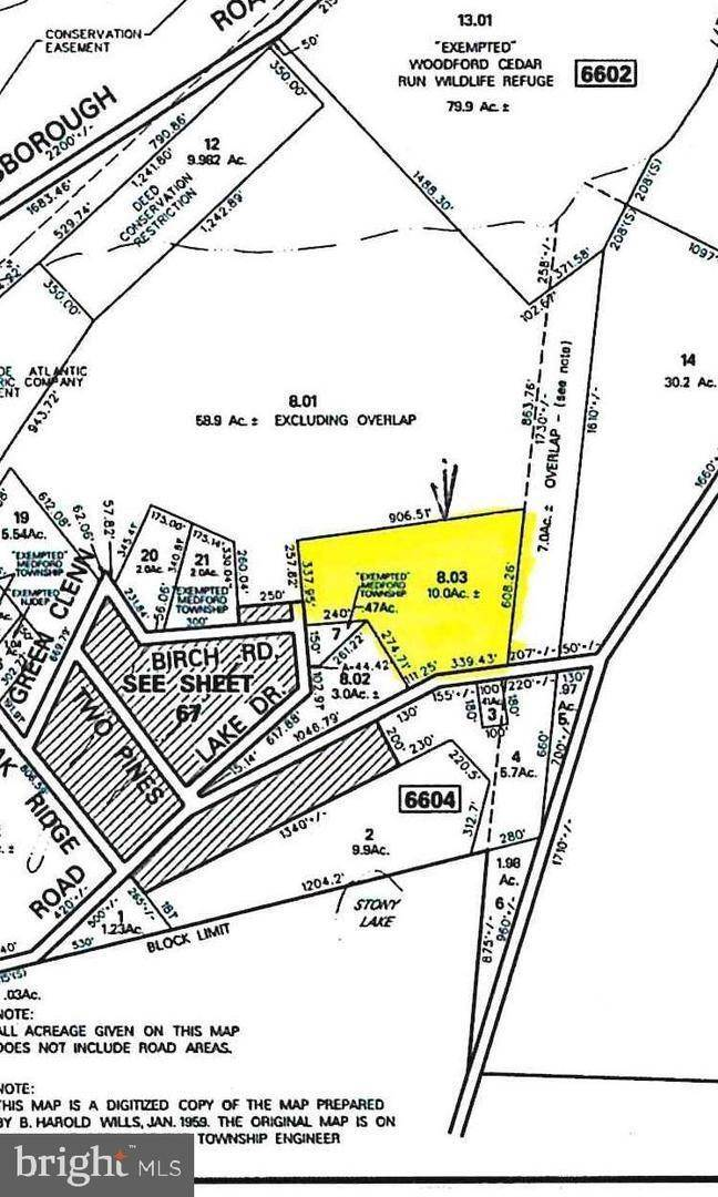 Land for Sale at Medford Lakes, New Jersey 08055 United States