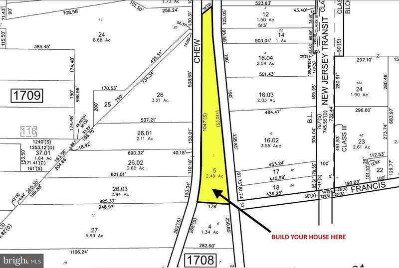 897 N CHEW Road Hammonton New Jersey 08037 Land for Sale
