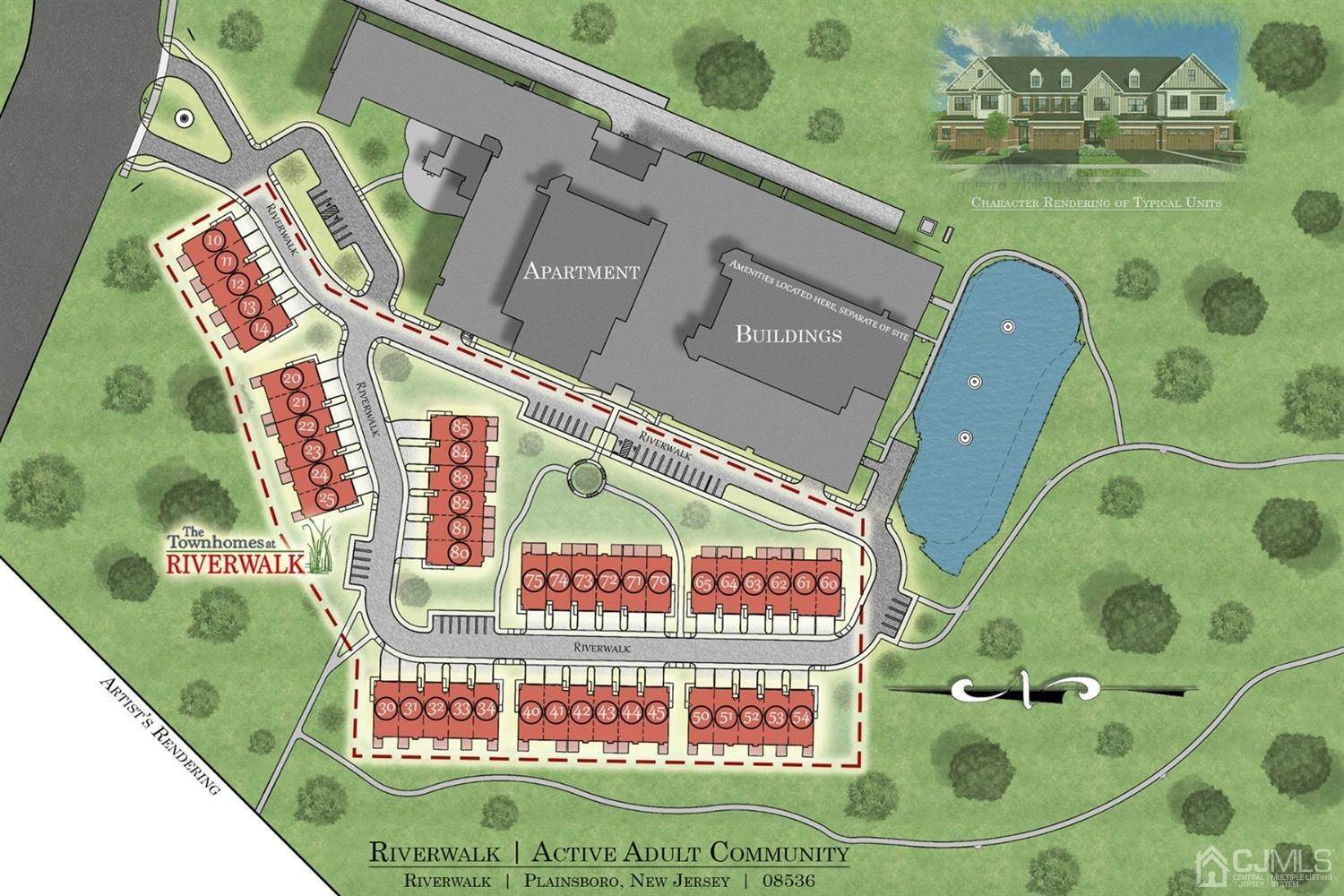 townhouses for Sale at Plainsboro, New Jersey 08536 United States