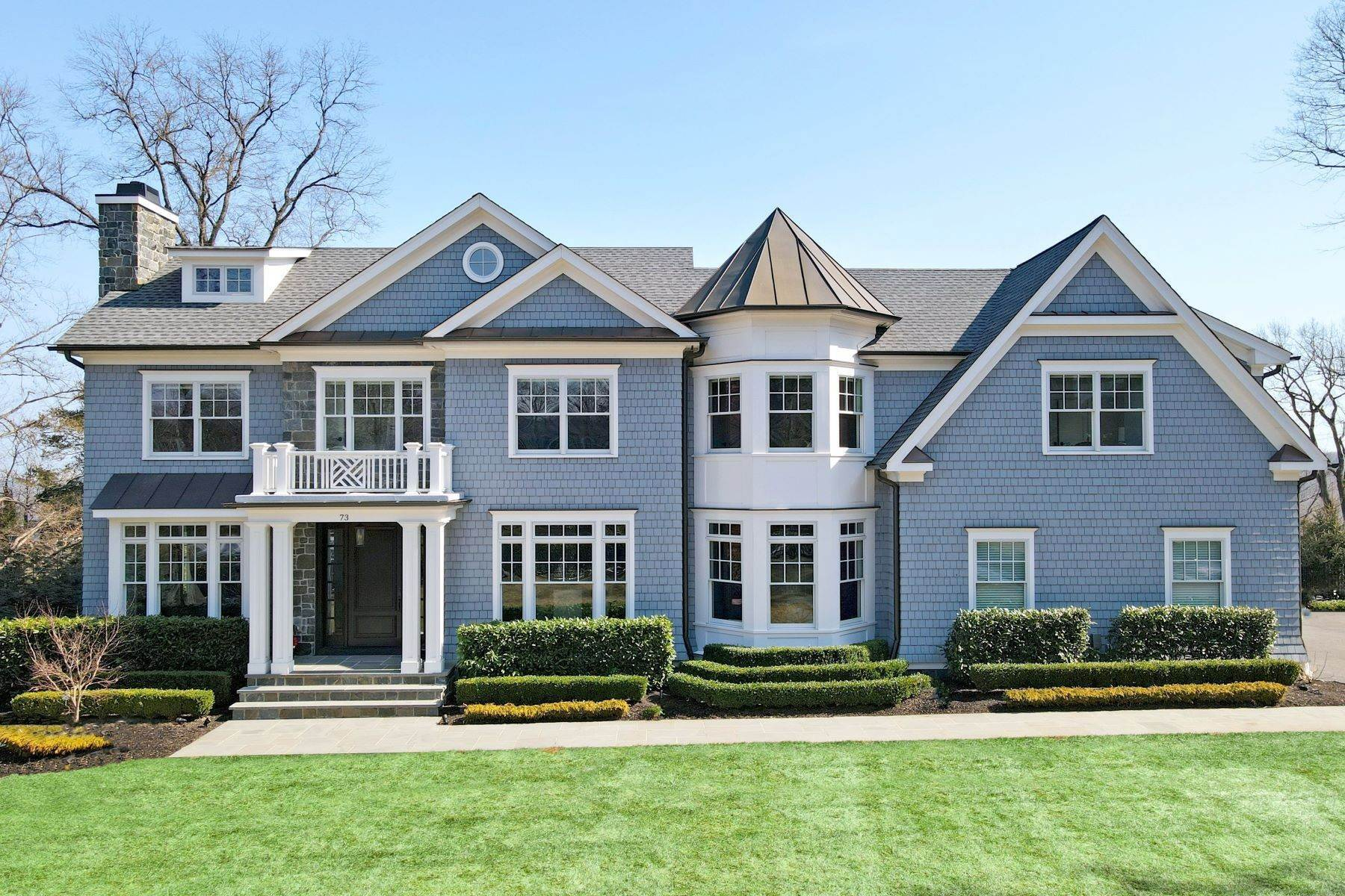 Single Family Homes for Sale at New Construction Masterpiece 73 Edgewood Road, Summit, New Jersey 07901 United States