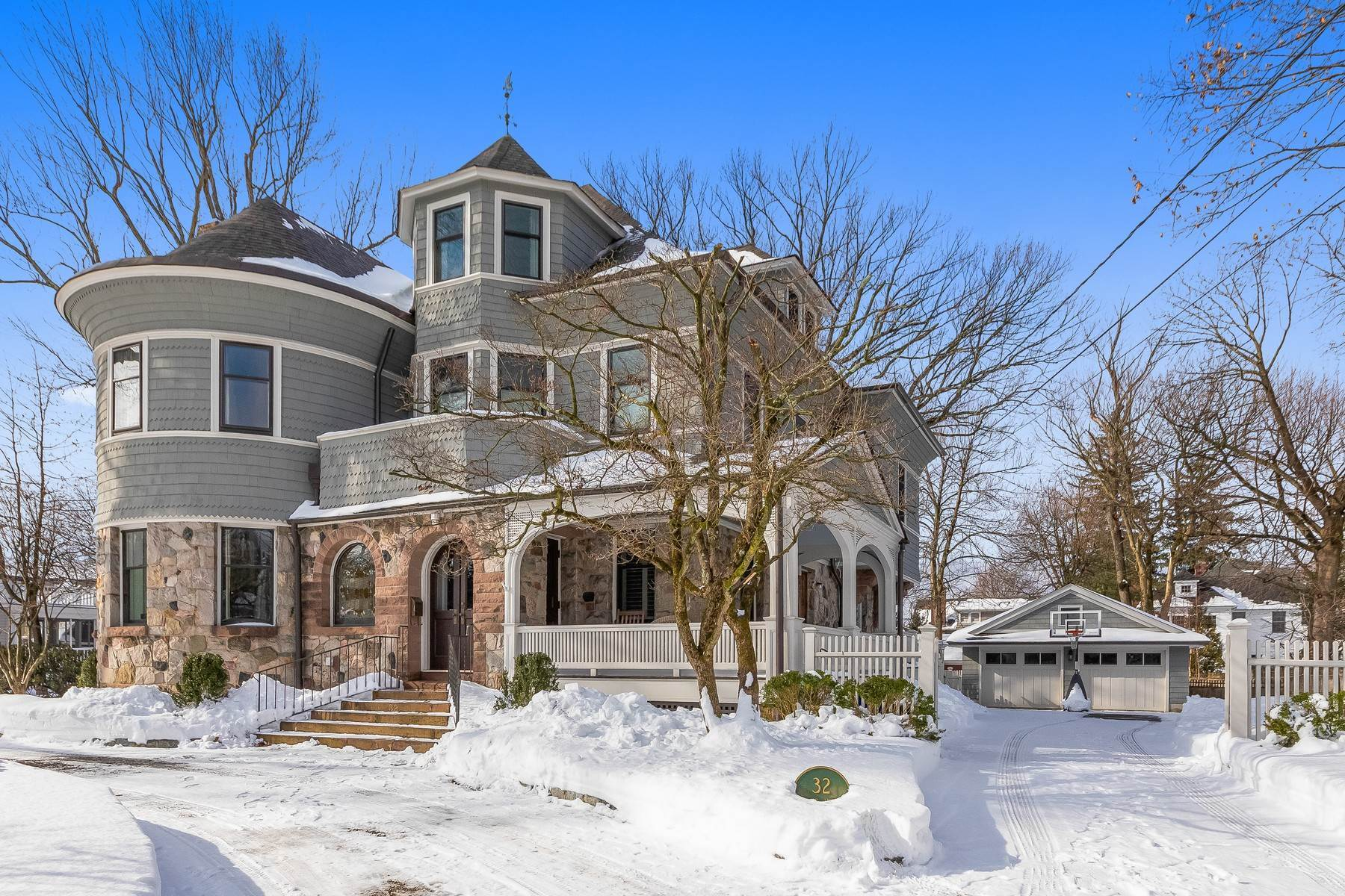 Single Family Homes for Sale at Stunning Victorian In The Heart Of Summit 32 Hobart Avenue, Summit, New Jersey 07901 United States