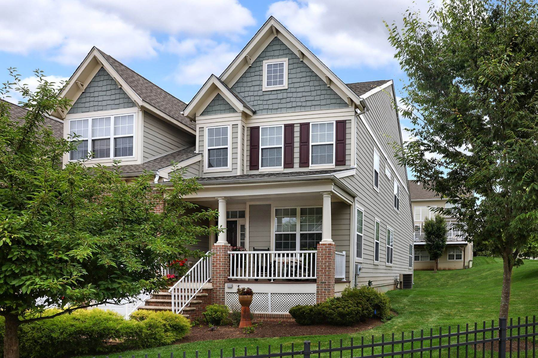 townhouses for Sale at Immaculate End Unit Livingston Model - Lambert's Hill 616 Heath Court, Lambertville, New Jersey 08530 United States