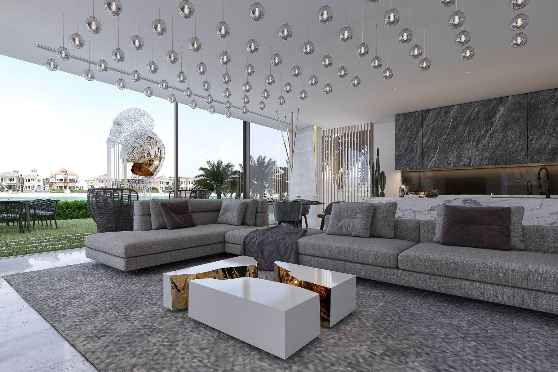 38. Single Family Homes for Sale at Custom Designed Palm Jumeirah Mansion The Palm Jumeirah, Dubai United Arab Emirates