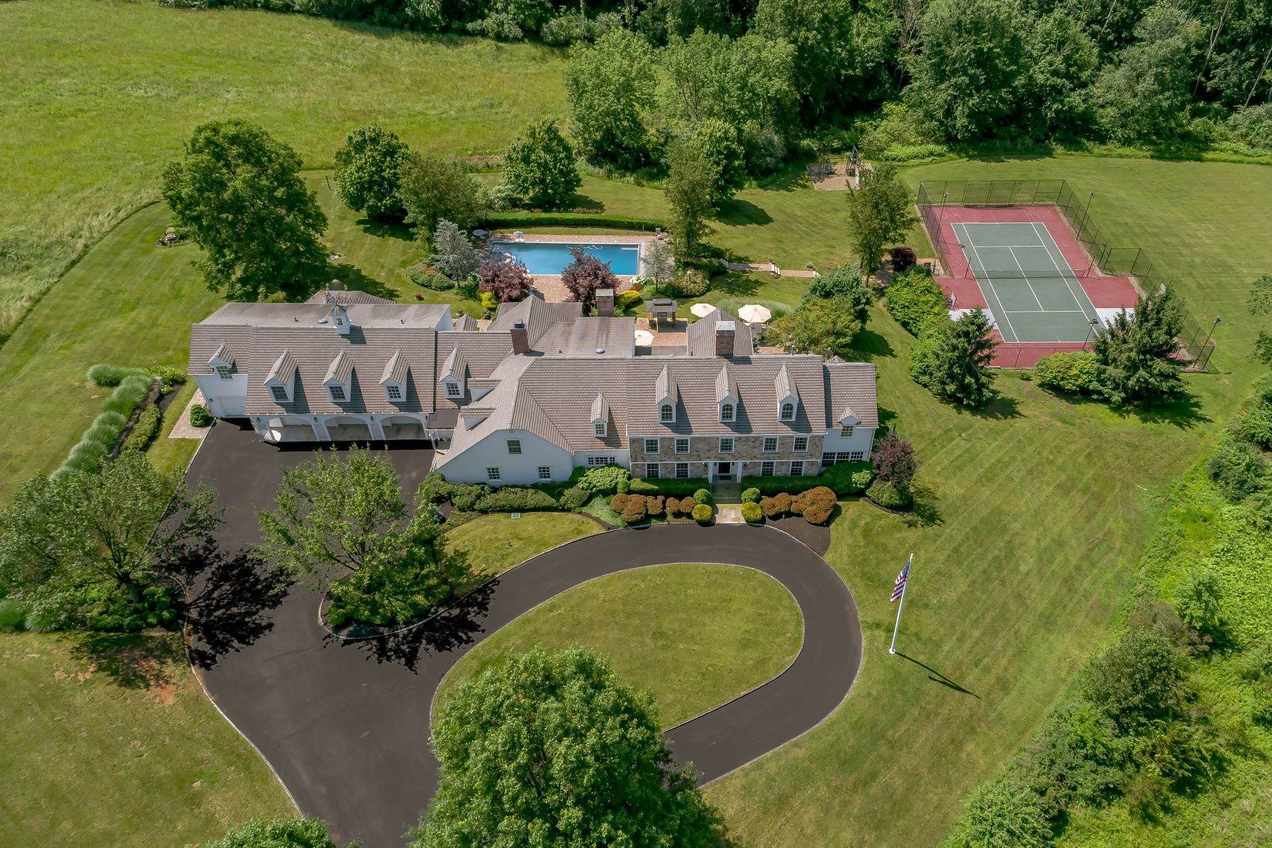 Single Family Homes for Sale at 'Oakland Farm' 520 Pottersville Road, Bedminster, New Jersey 07921 United States