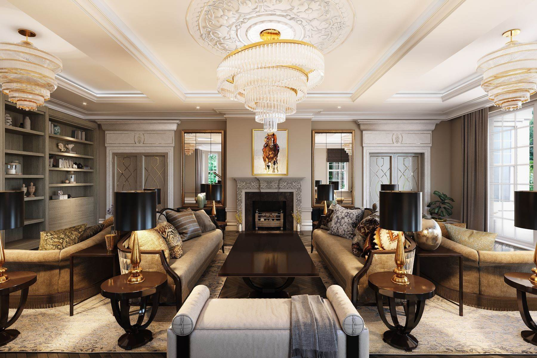 2. Single Family Homes for Sale at Hampton Hall Queens Drive London, England KT22 0PB United Kingdom