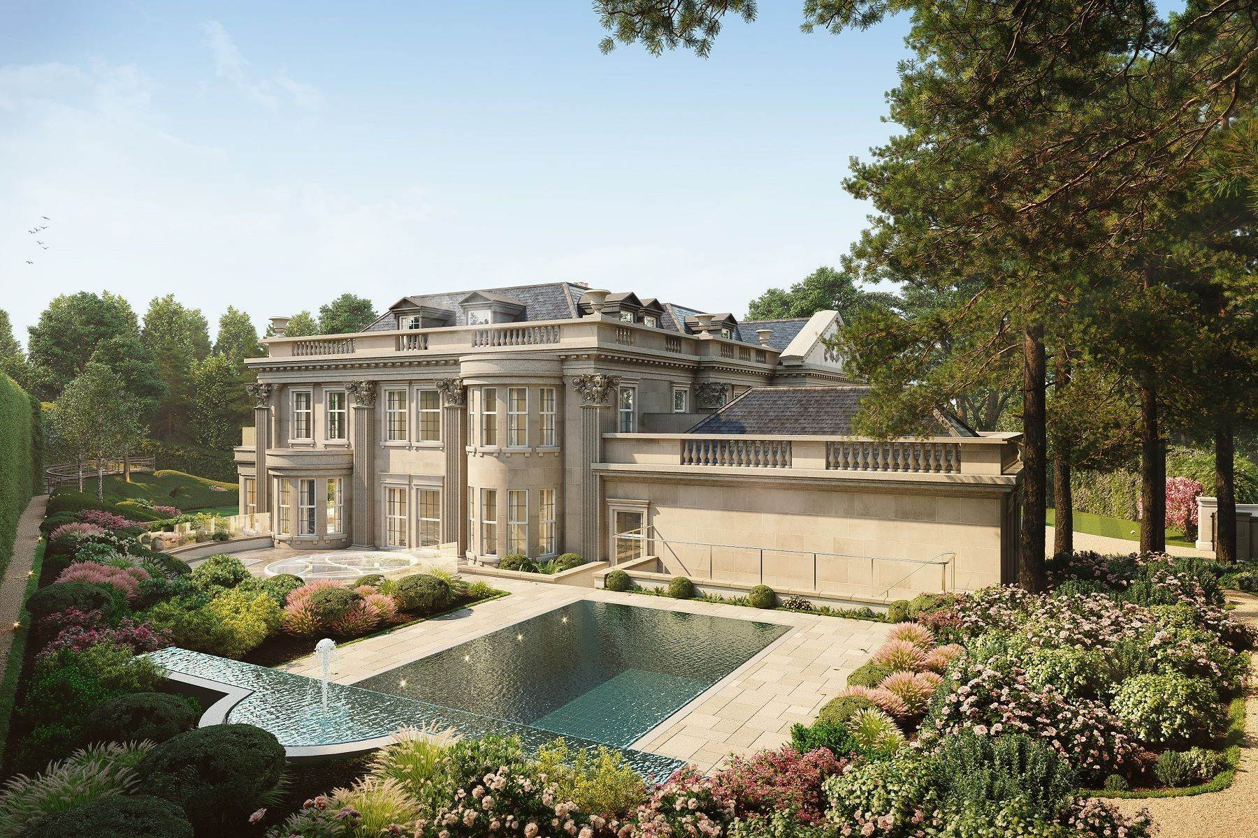 7. Single Family Homes for Sale at Hampton Hall Queens Drive London, England KT22 0PB United Kingdom