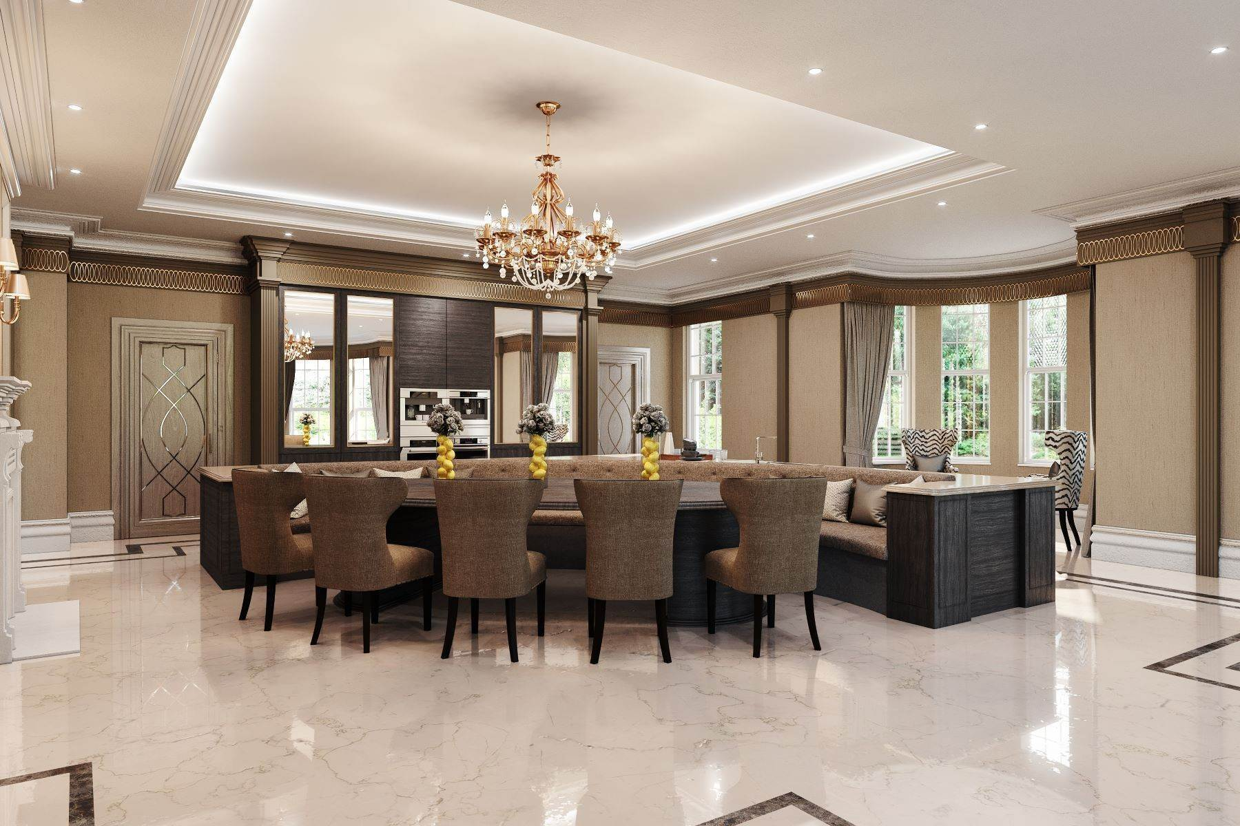 18. Single Family Homes for Sale at Hampton Hall Queens Drive London, England KT22 0PB United Kingdom