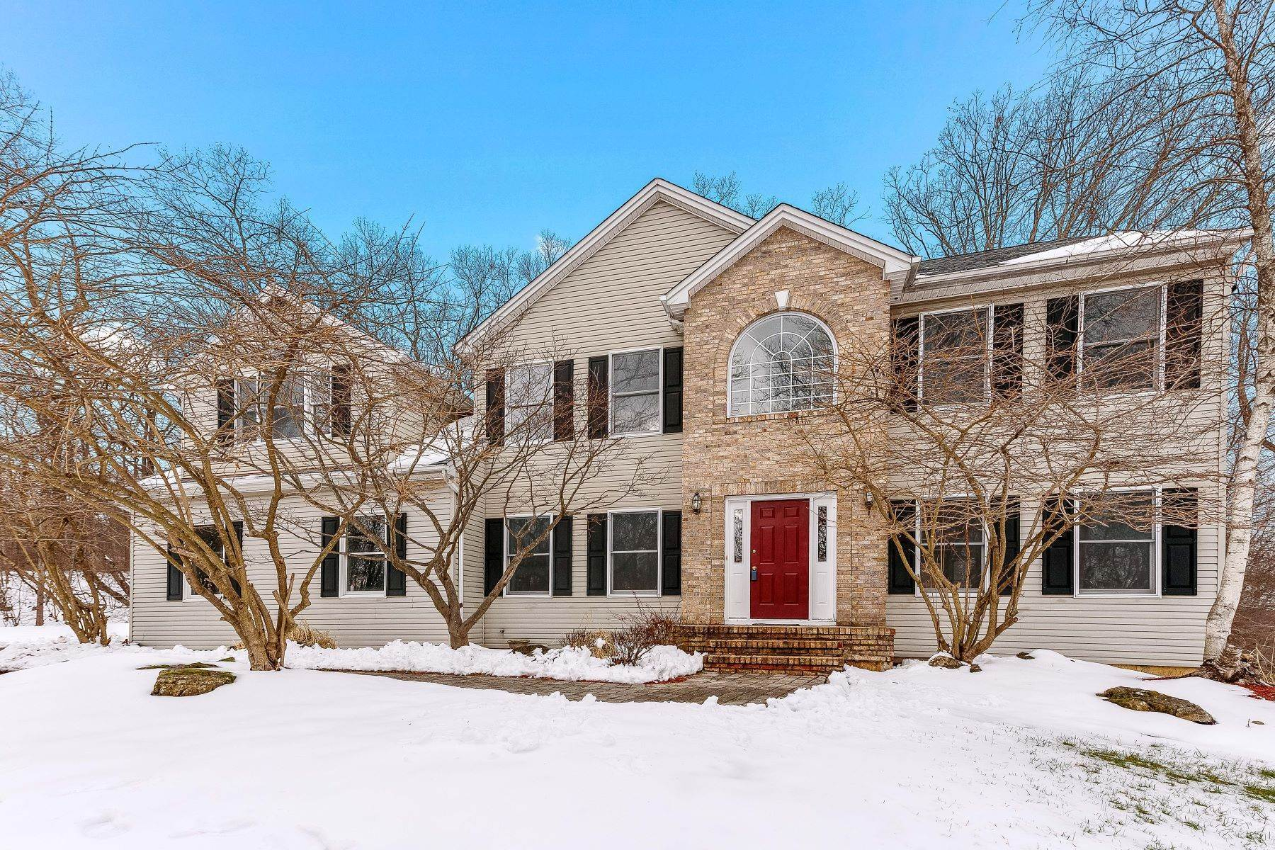Single Family Homes for Sale at Independence Twp Four Bedroom Colonial 21 Ridge Lane, Hackettstown, New Jersey 07840 United States