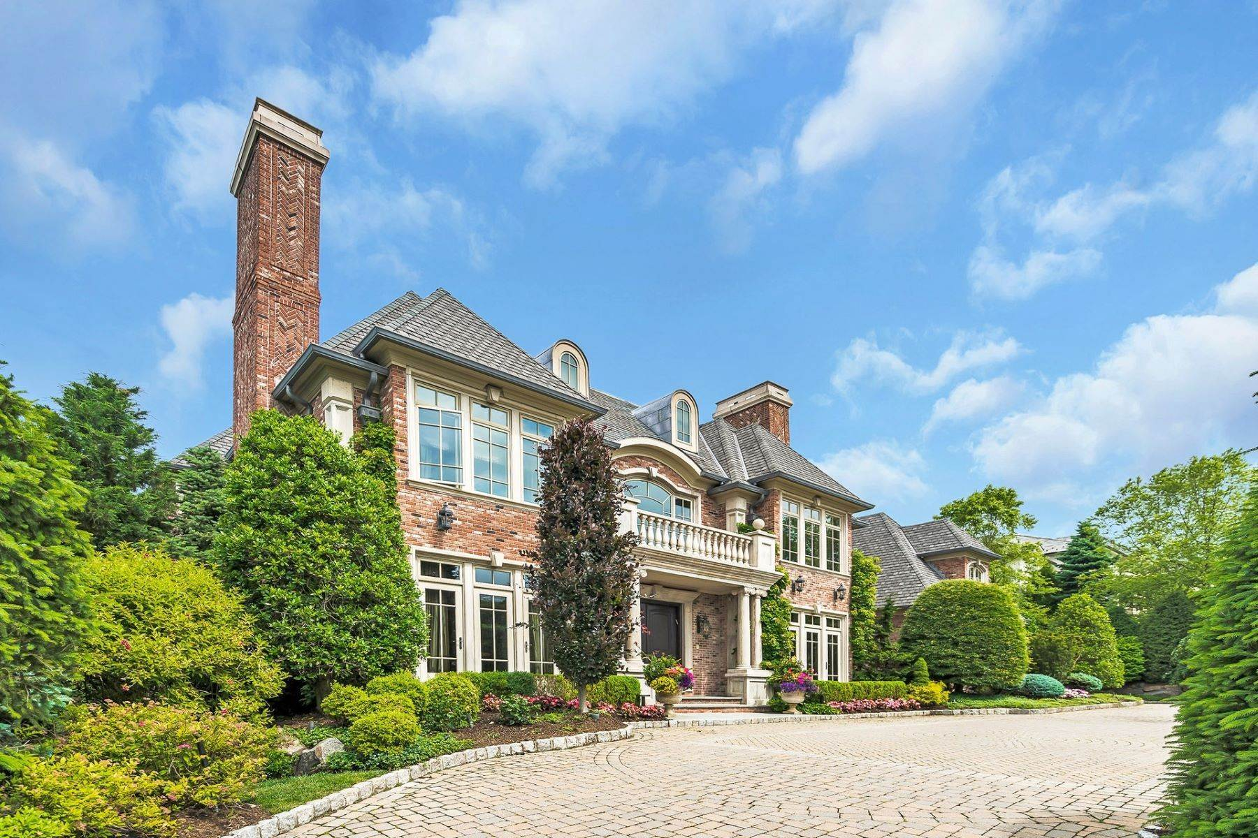 Single Family Homes for Sale at Extraordinary Manor Estate 129 Truman Dr, Cresskill, New Jersey 07626 United States