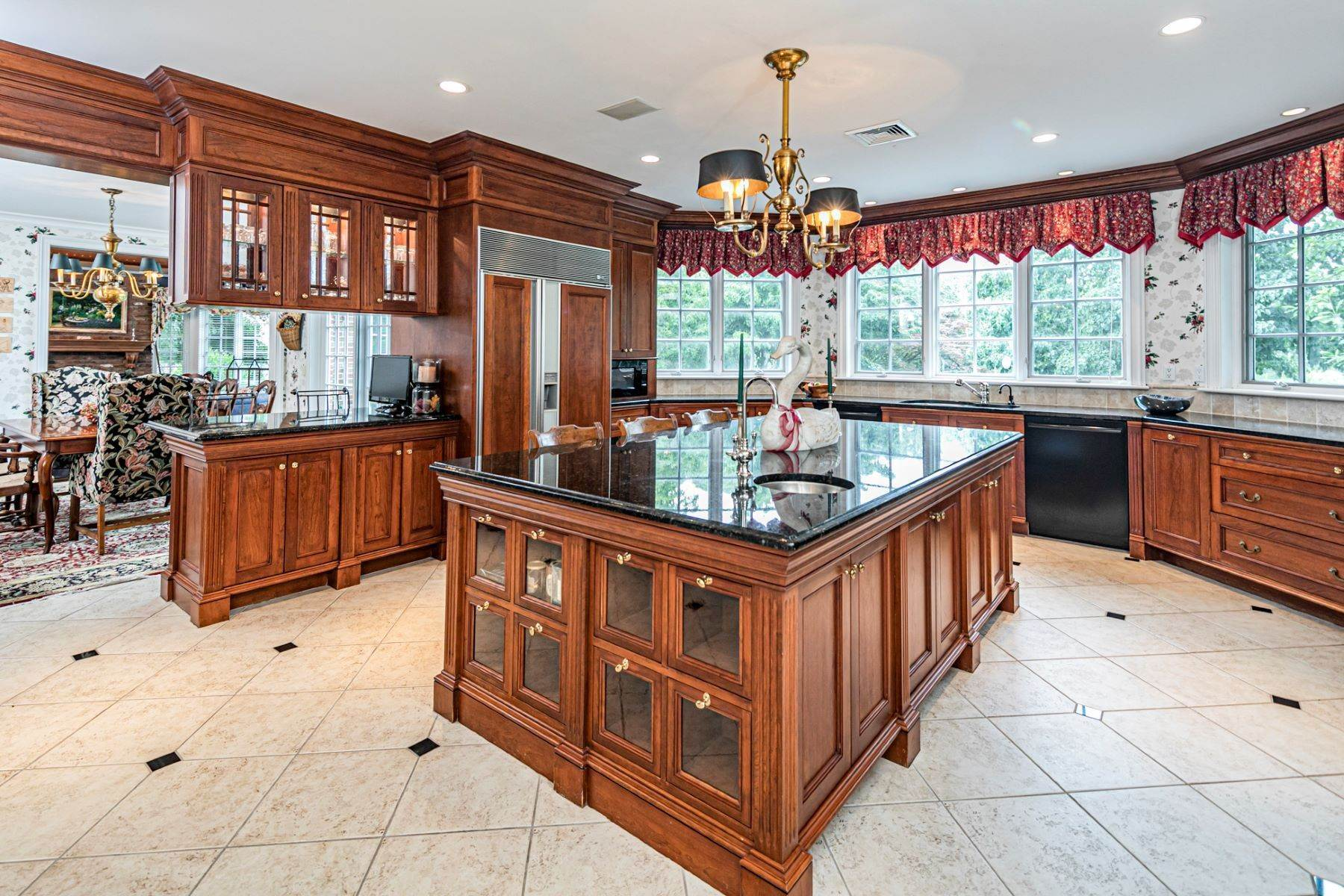 8. Single Family Homes for Sale at Private Compound with Every Amenity Imaginable 82 Aunt Molly Road, Hopewell, New Jersey 08525 United States