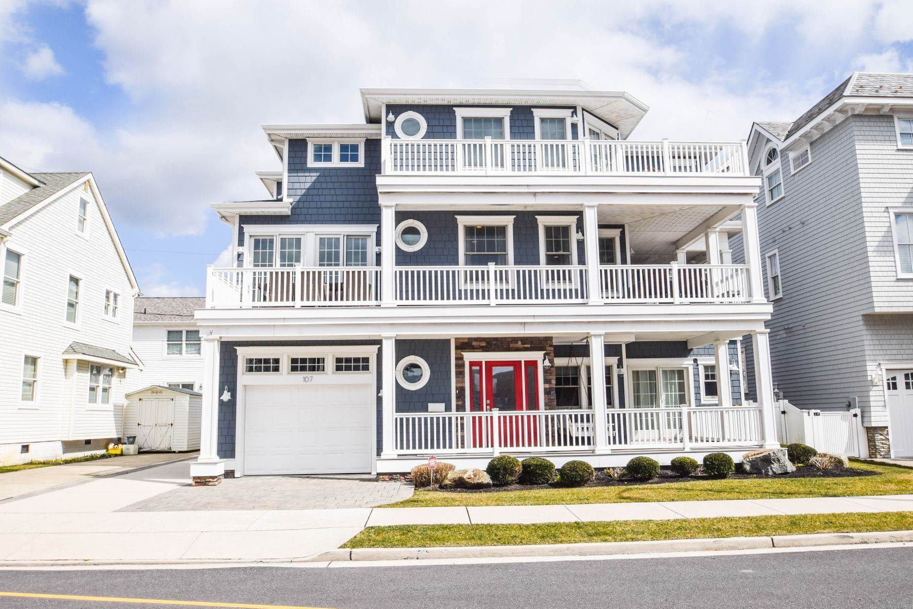 Single Family Homes lúc 107 S Philadelphia Avenue, Split Season 1st Half, Ventnor, New Jersey 08406 Hoa Kỳ