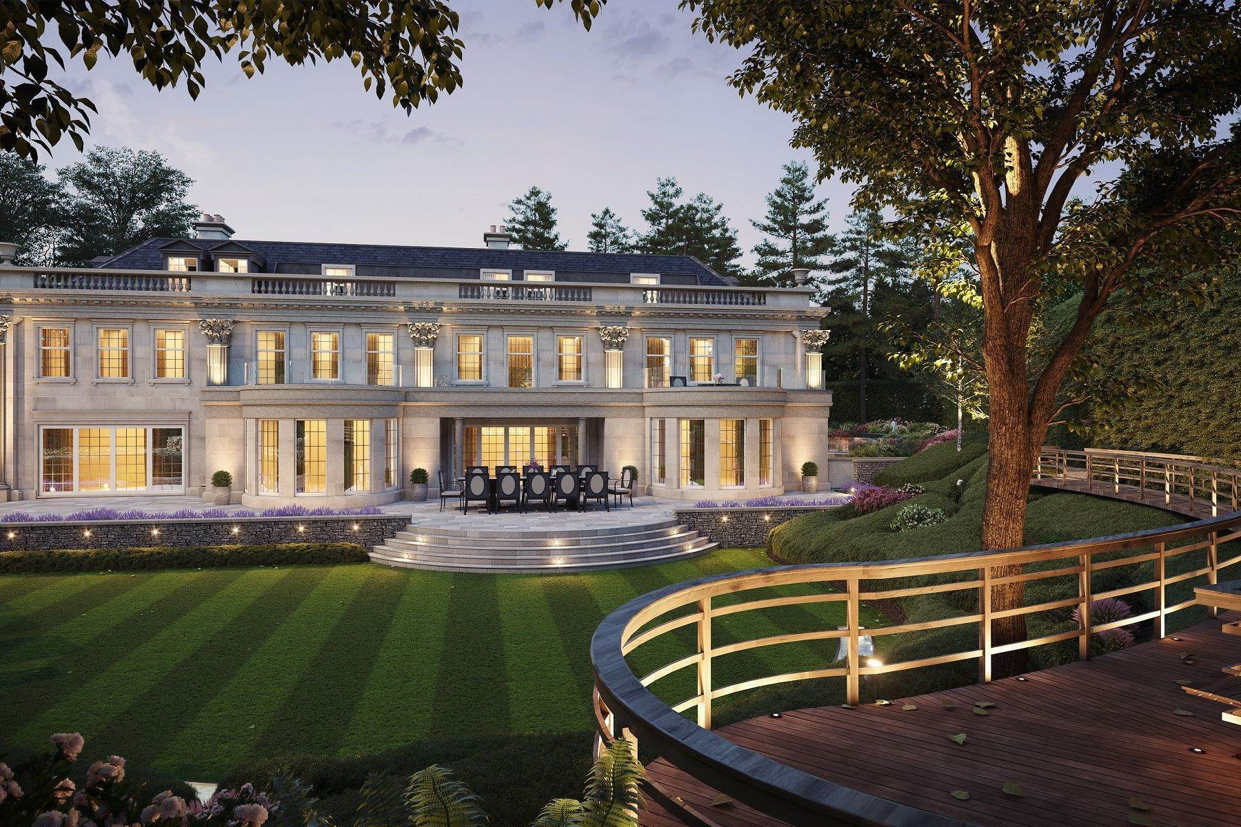 21. Single Family Homes for Sale at Hampton Hall Queens Drive London, England KT22 0PB United Kingdom