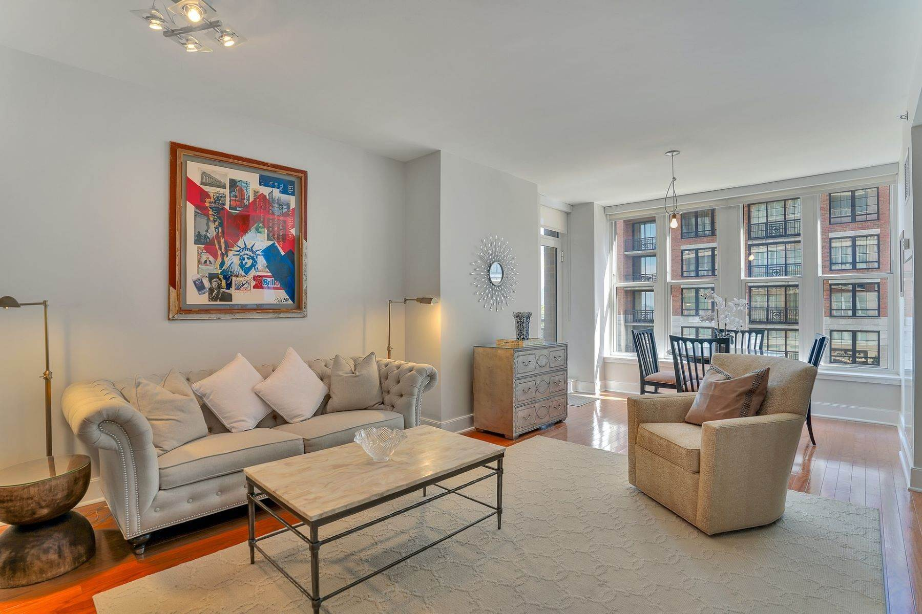 Condominiums for Sale at Maxwell Place 2BR + Den with Stunning Views! 1125 Maxwell Lane #302, Hoboken, New Jersey 07030 United States