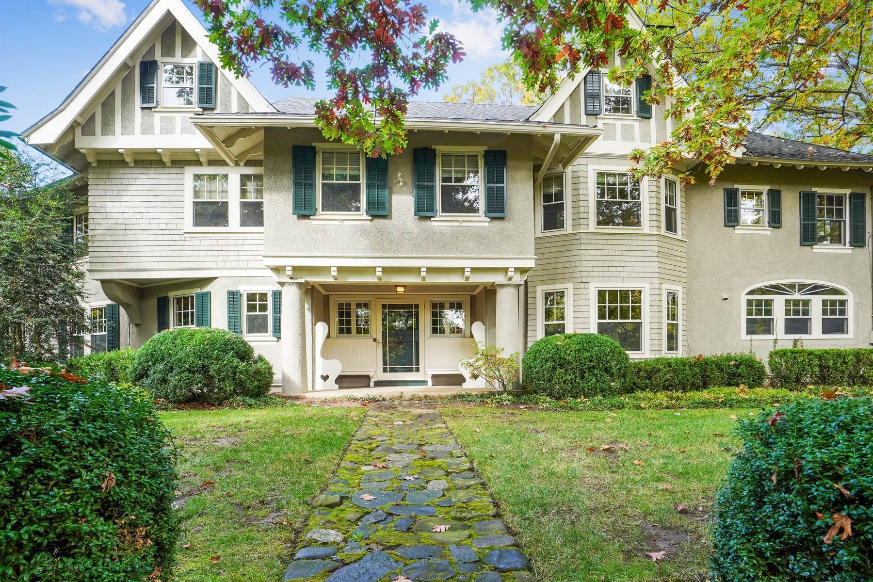Single Family Homes for Sale at Private Northside Estate 226 Hobart Avenue, Summit, New Jersey 07901 United States