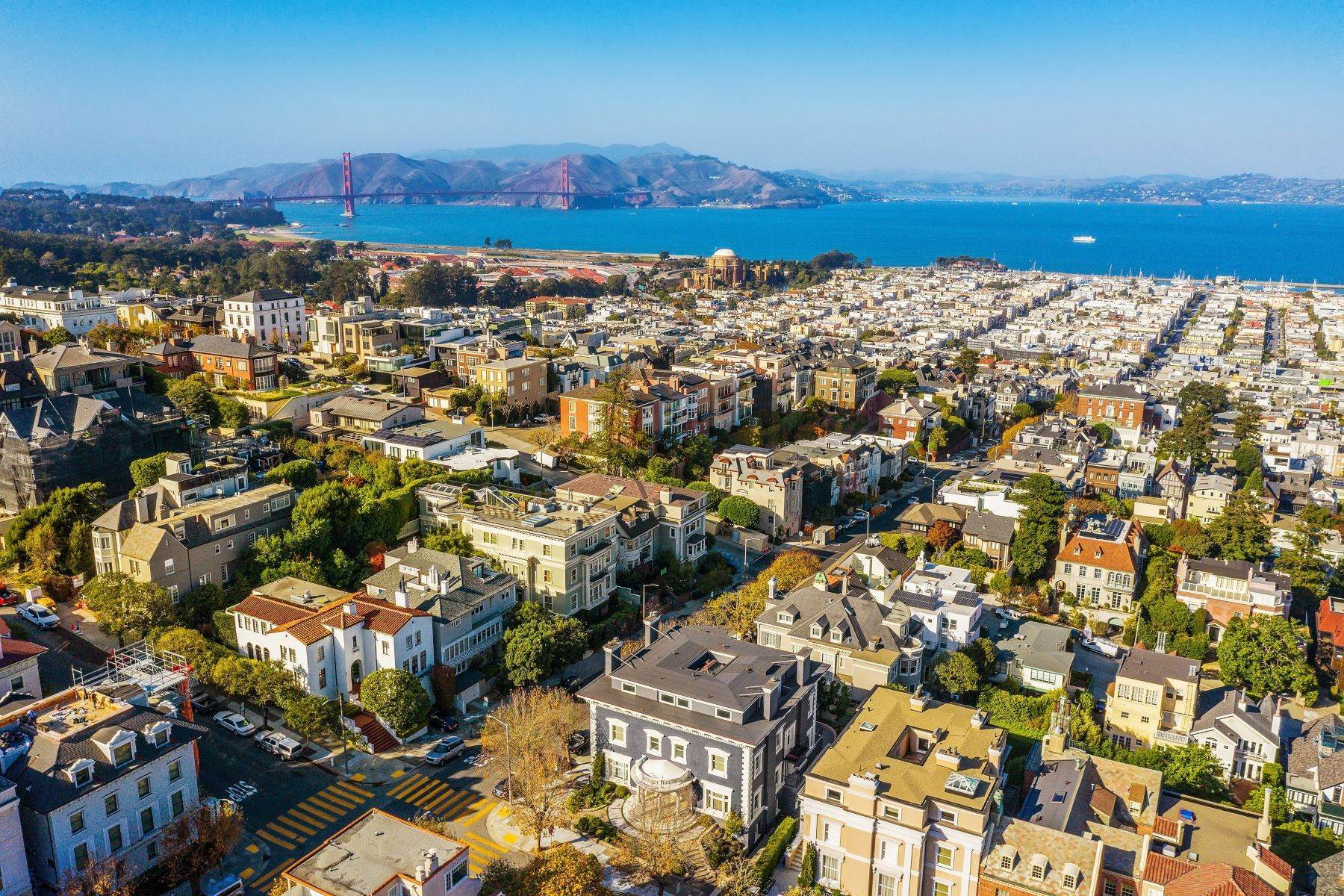 Single Family Homes for Sale at Timeless And Glamorous Pacific Heights Designer Masterpiece 2698 Pacific Avenue, San Francisco, California 94115 United States