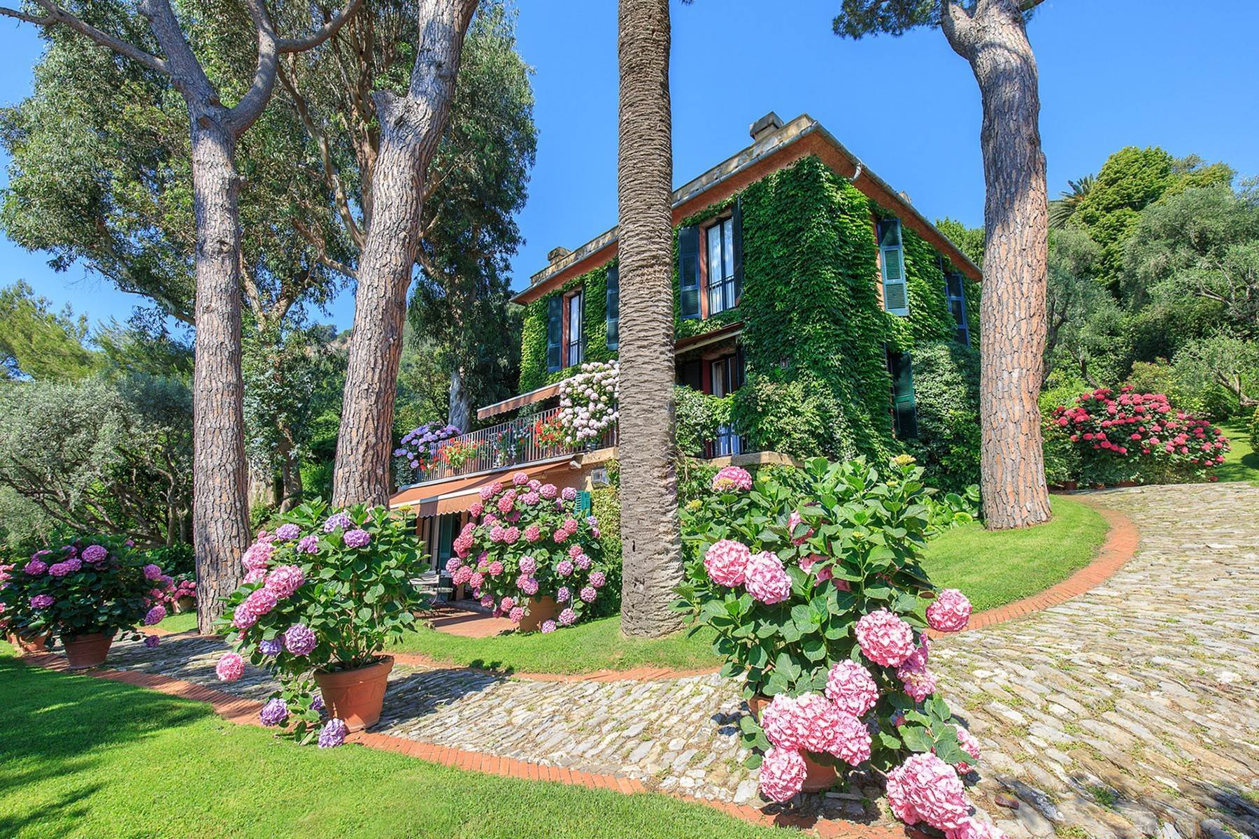 Other Residential Homes for Sale at Majestic villa overlooking the Bay of Portofino Santa Margherita Ligure, Genoa Italy