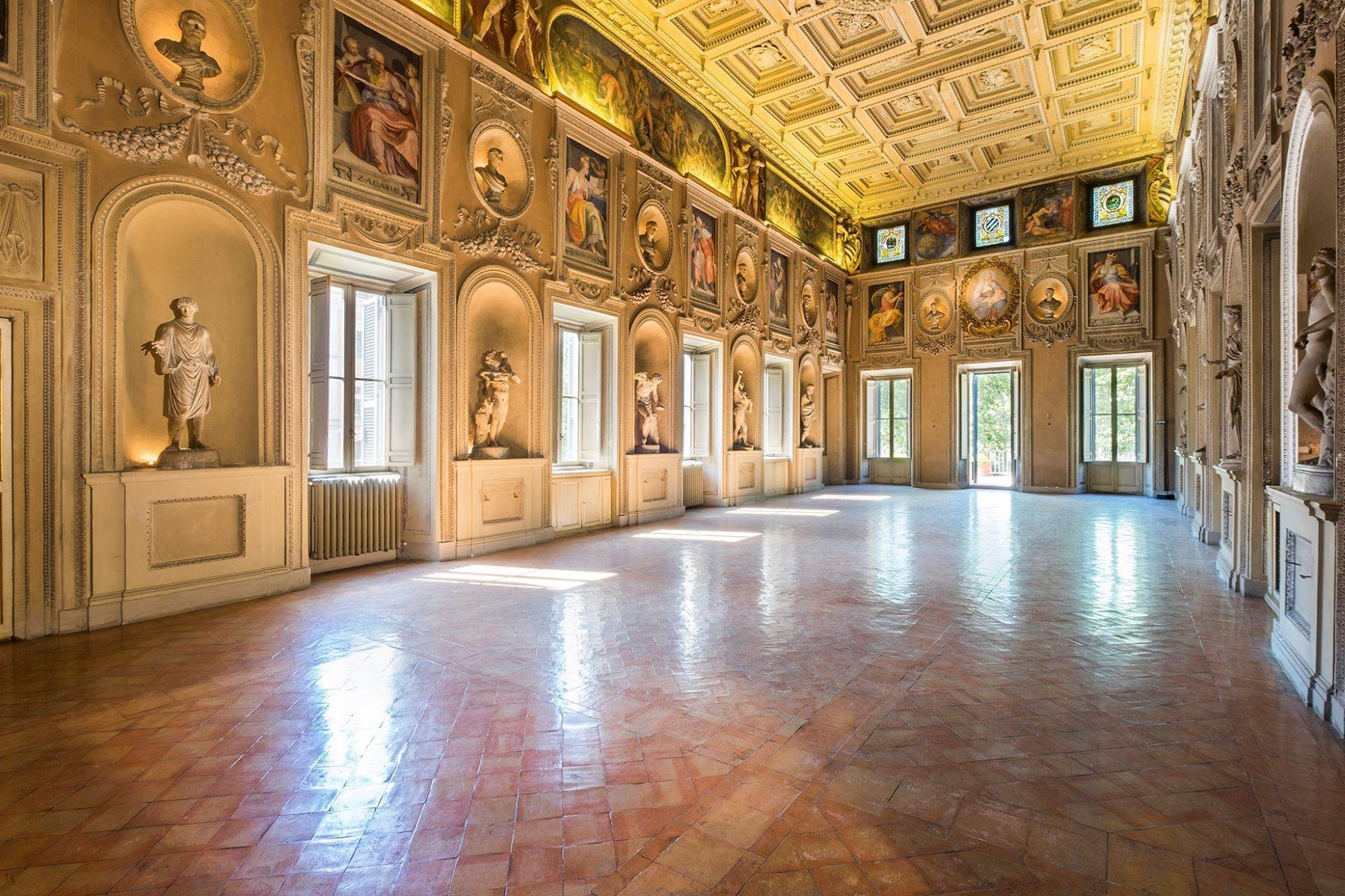 Apartments for Sale at Noble floor apartment in Palazzo Sacchetti, a pearl of the late Renaissance Rome, Rome Italy
