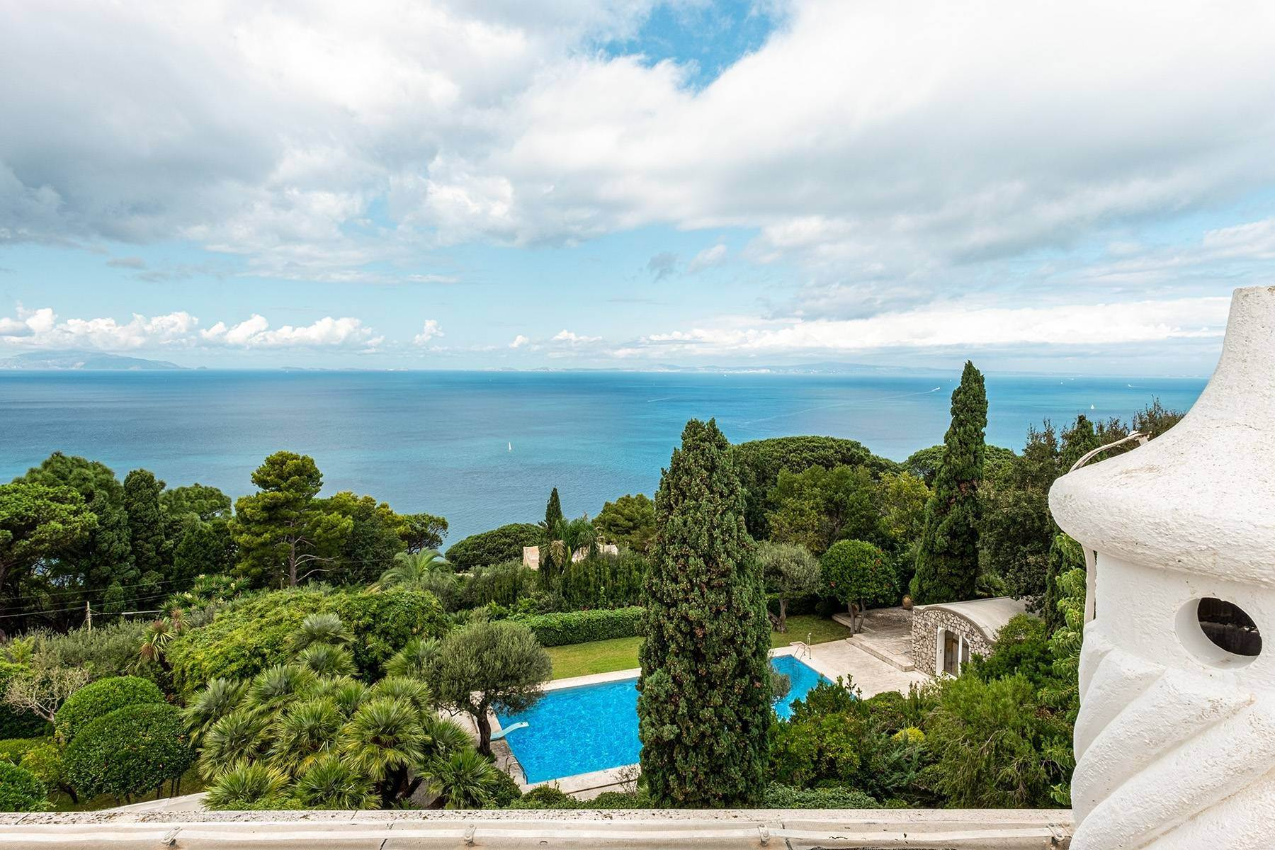 Other Residential Homes for Sale at Monumental property overlooking the sea Capri, Naples Italy