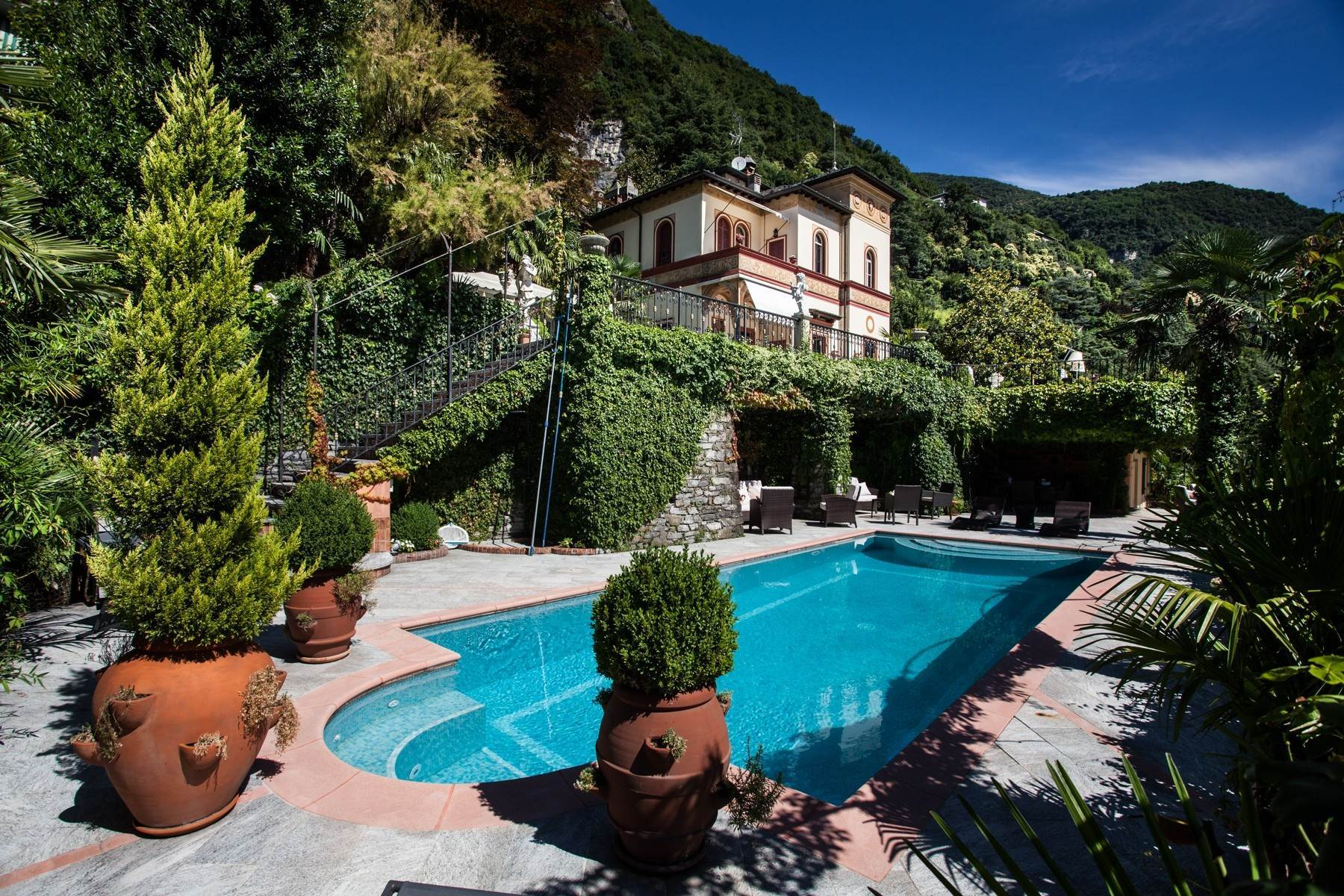 Other Residential Homes for Sale at Charming historic villa with private park Moltrasio, Como Italy