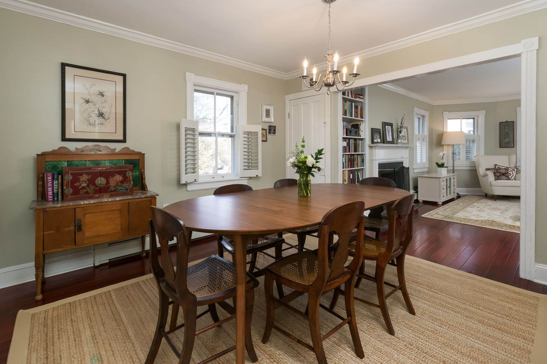 9. Single Family Homes for Sale at Storybook Home on a Stroll-Everywhere Street 5 Titus Avenue, Lawrenceville, New Jersey 08648 United States
