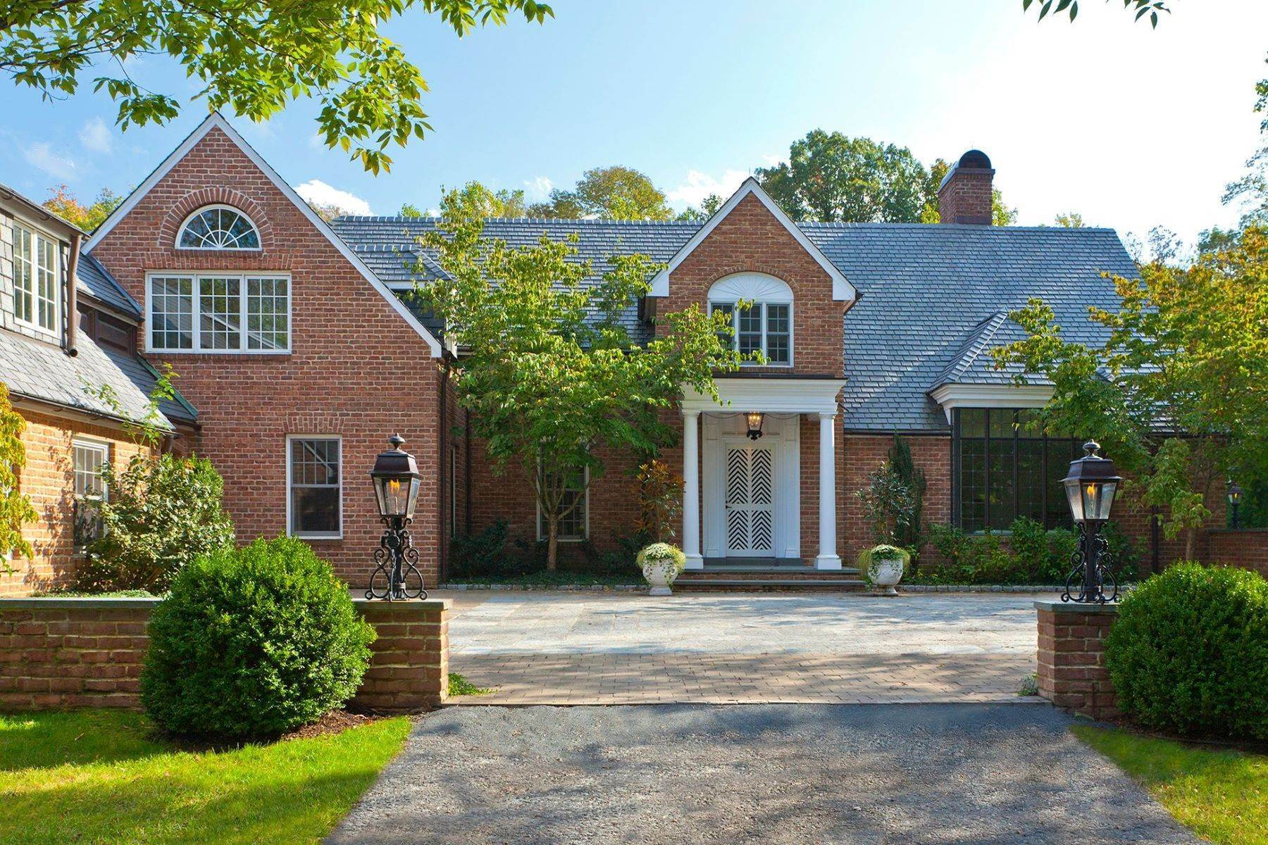 Single Family Homes for Sale at Masterfully Designed Princeton Estate on 12 Acres 5279 Province Line Road, Princeton, New Jersey 08540 United States