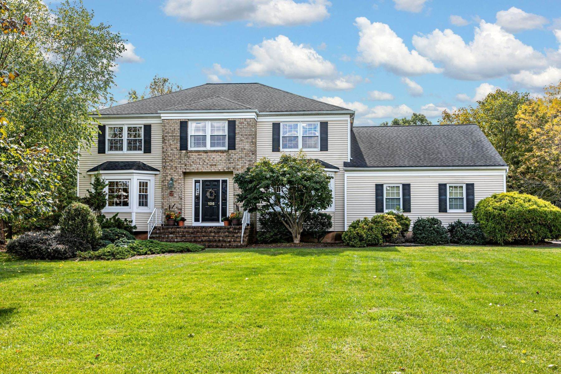 Single Family Homes for Sale at A Timeless Floor Plan In Convenient Belle Mead 105 Berkley Avenue, Belle Mead, New Jersey 08502 United States