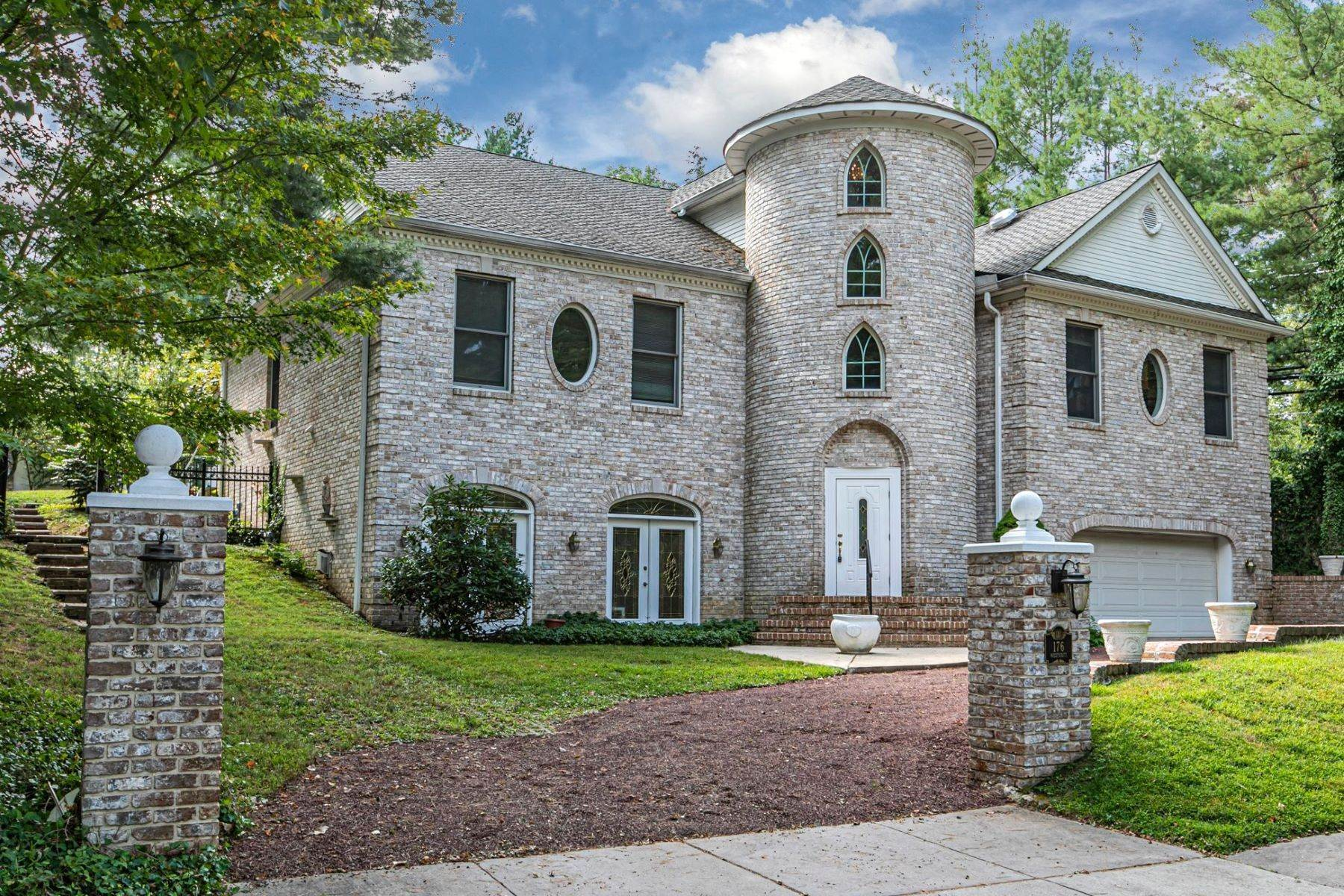 Single Family Homes for Sale at Large, Lofty & Like No Other 176 Westcott Road, Princeton, New Jersey 08540 United States