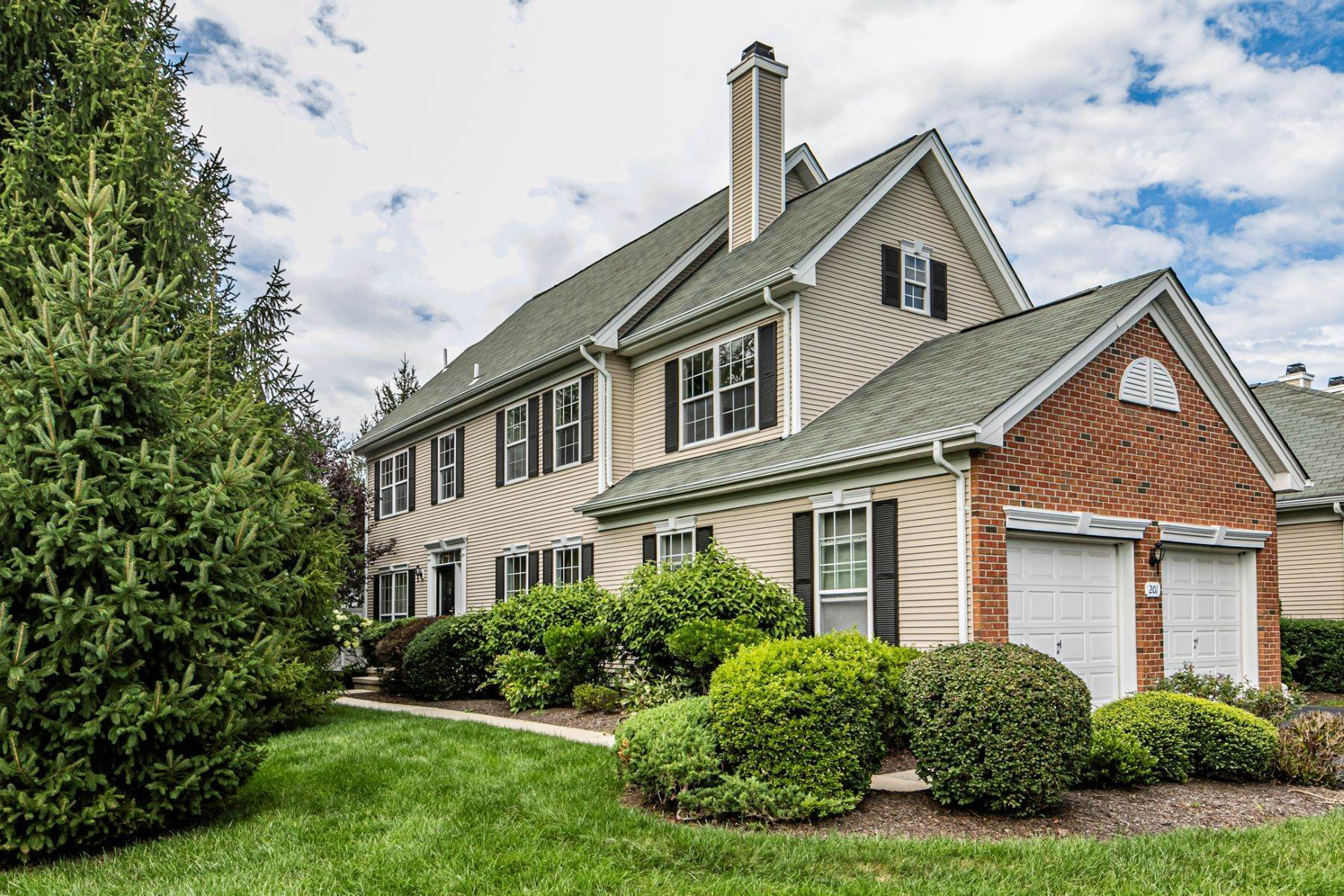 Condominiums for Sale at A Rare Four Bedroom End-Unit In Twin Pines 201 Colt Street, Pennington, New Jersey 08534 United States