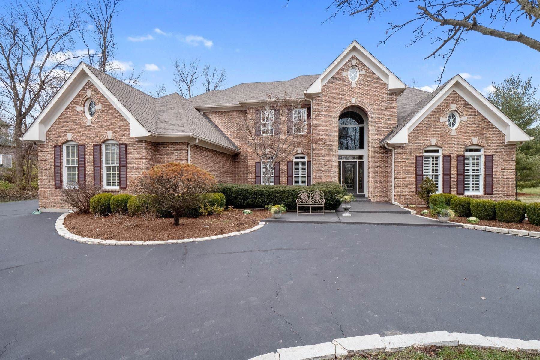 Single Family Homes for Sale at Newer Creve Coeur Home On A Private Cul-De-Sac 11339 Mosley Forest Drive, Creve Coeur, Missouri 63141 United States