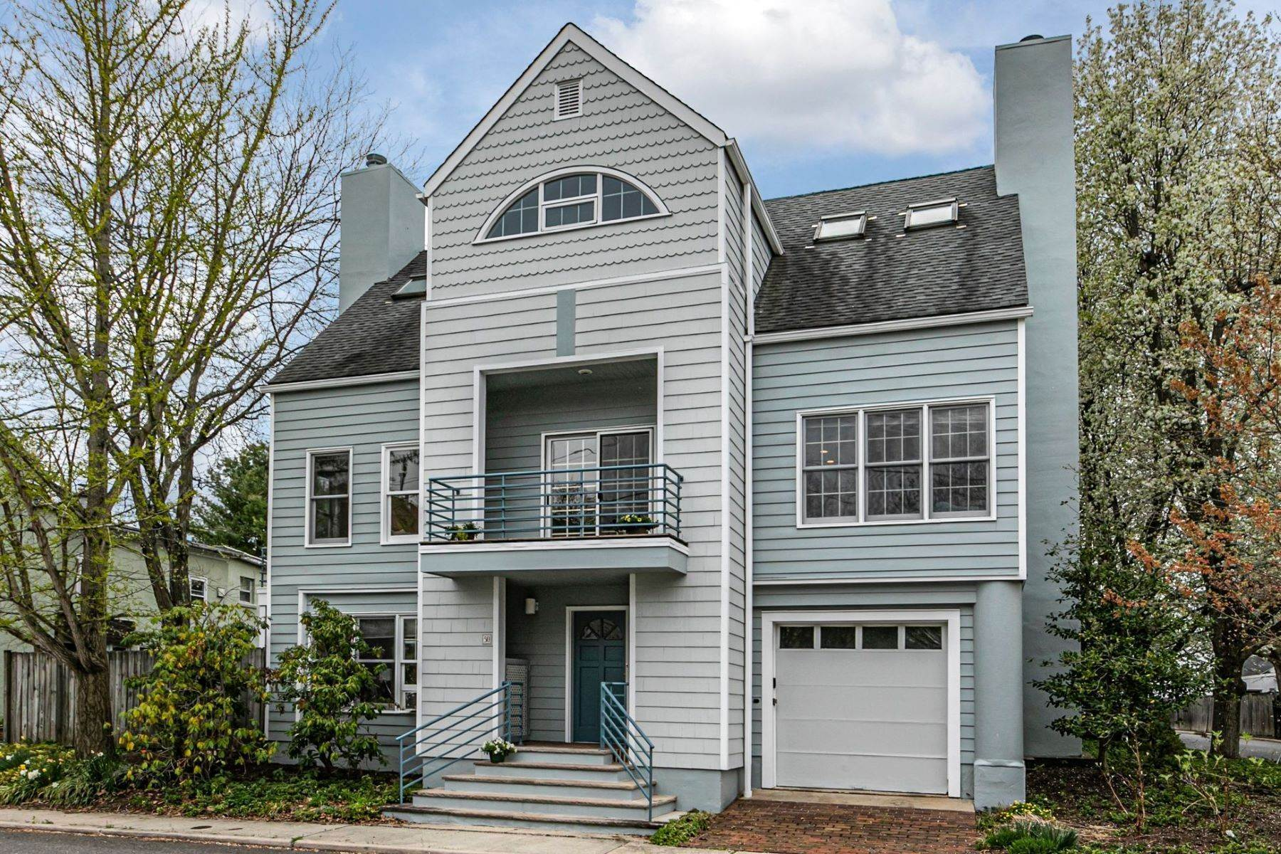 townhouses for Sale at Cool, Contemporary, City-style Retreat 50 Humbert Street, Princeton, New Jersey 08542 United States