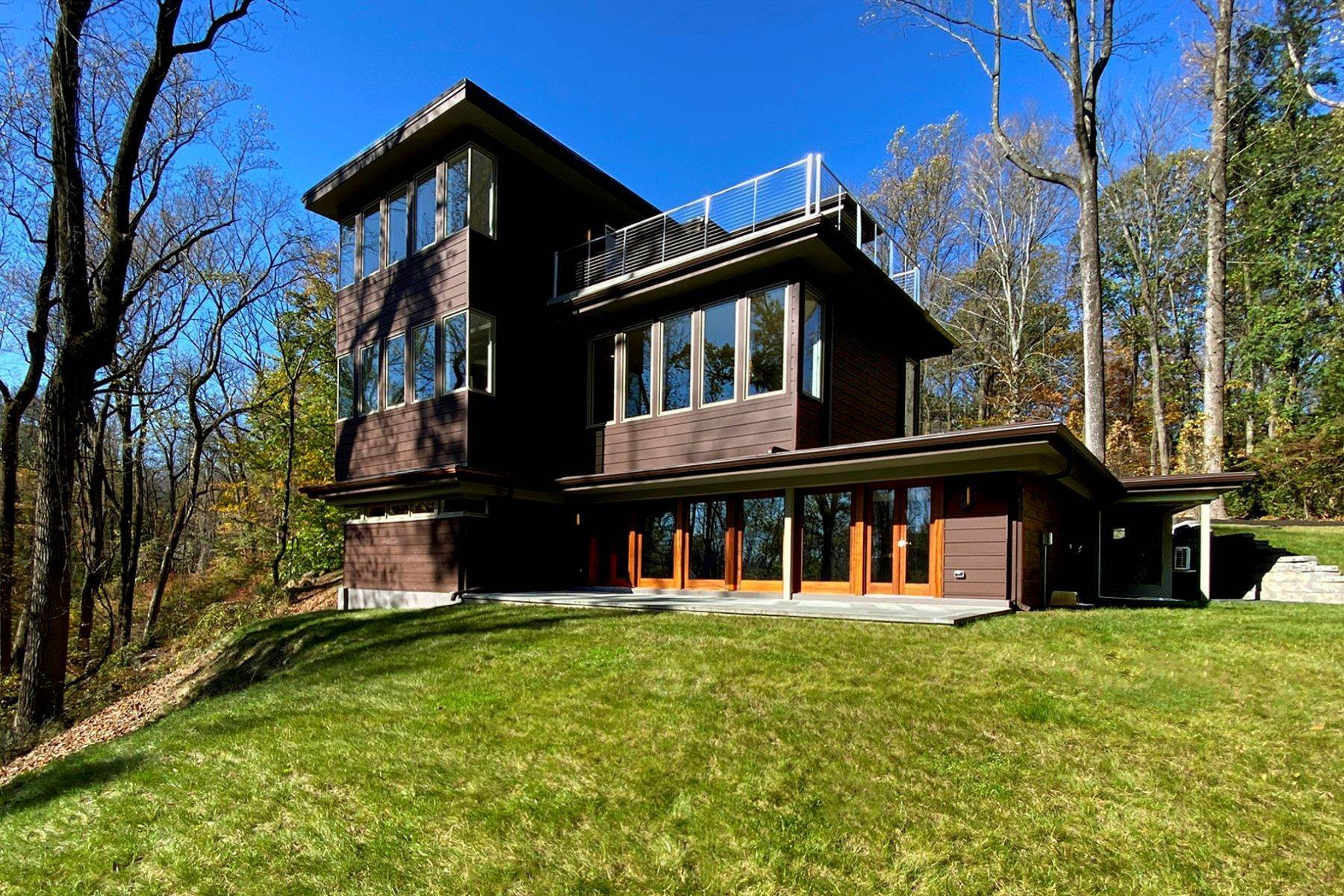 Single Family Homes for Sale at Mid-Century Design, Rediscovered 144 Drakes Corner Road, Princeton, New Jersey 08540 United States