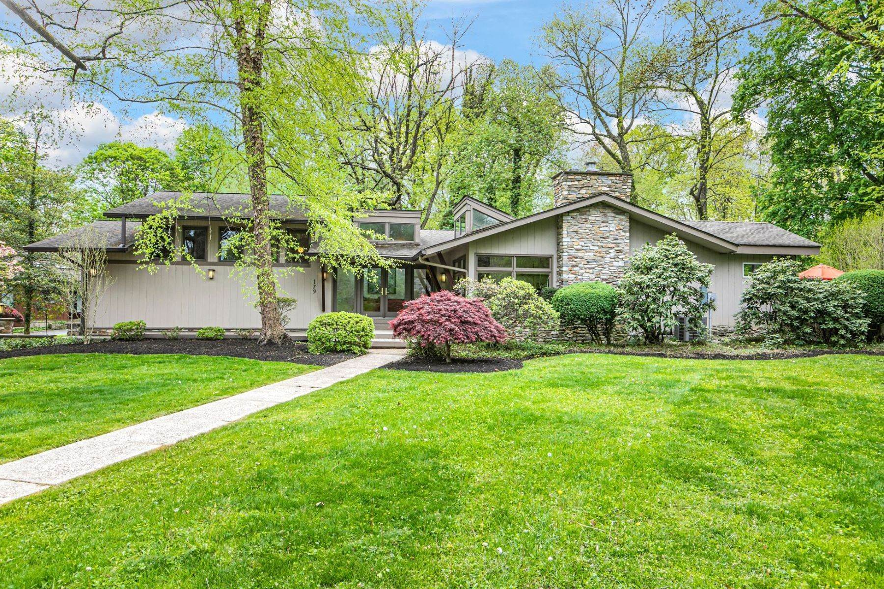 Single Family Homes for Sale at California Dreamin' In Princeton's Riverside 179 Longview Drive, Princeton, New Jersey 08540 United States