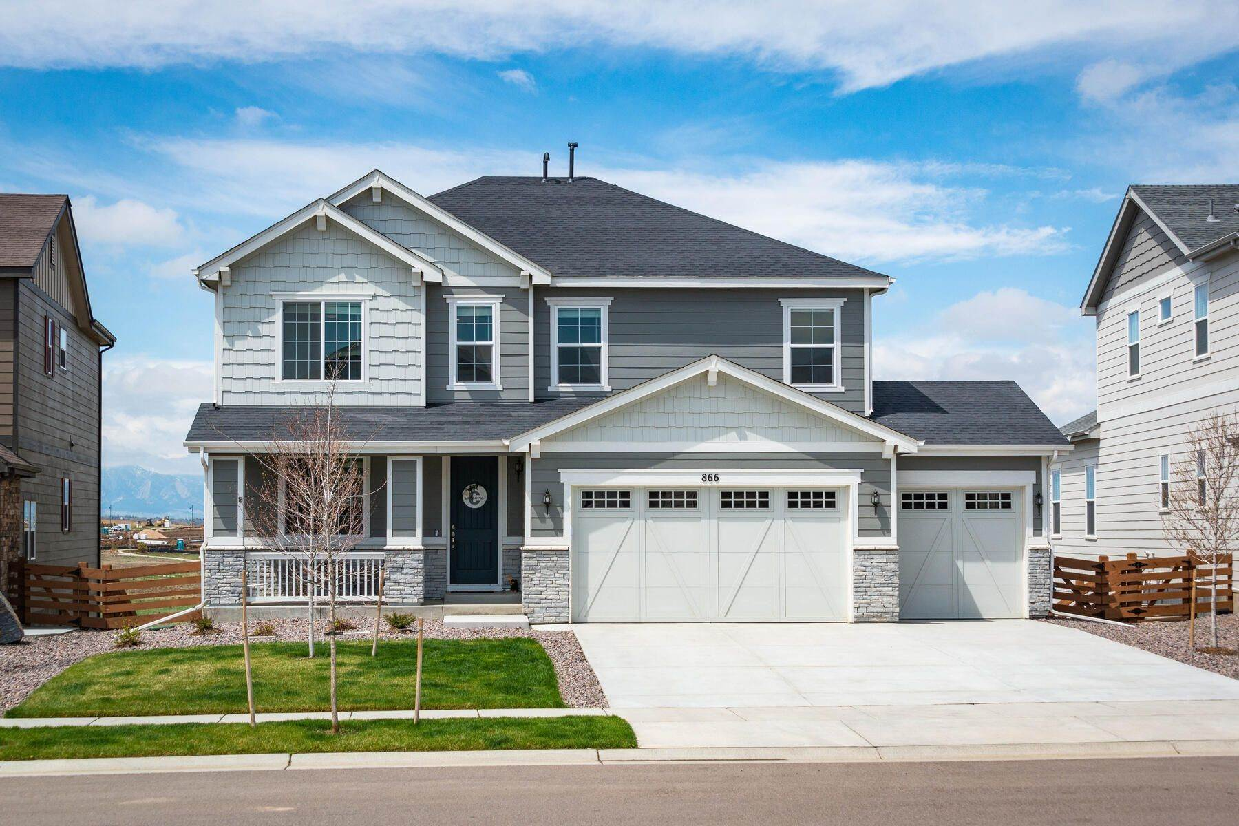 Single Family Homes のために 売買 アット 866 Flora View Drive, Erie, Co, 80516 Erie, コロラド 80516 アメリカ