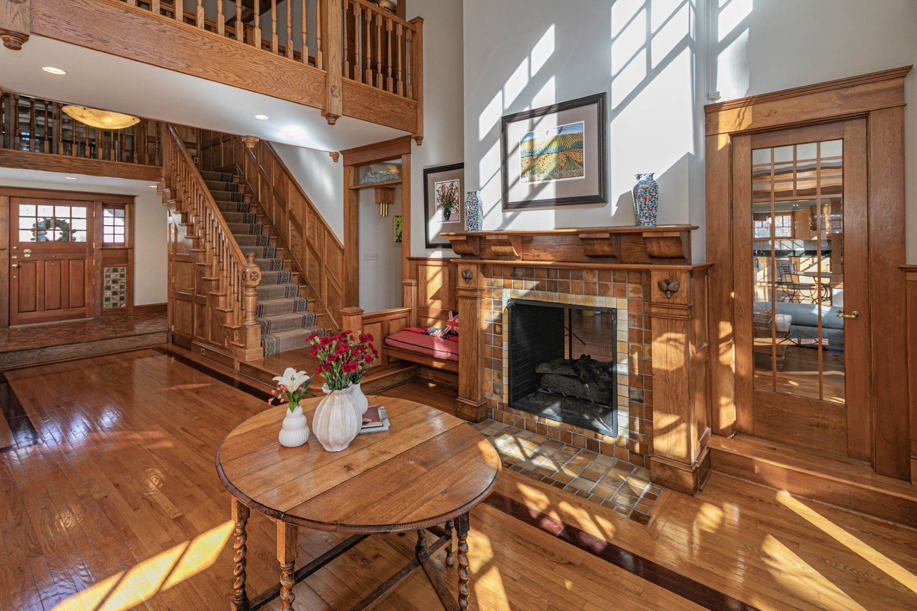 3. Single Family Homes for Sale at Arts and Crafts Showplace in The Preserve 36 Oakridge Court, Princeton, New Jersey 08540 United States
