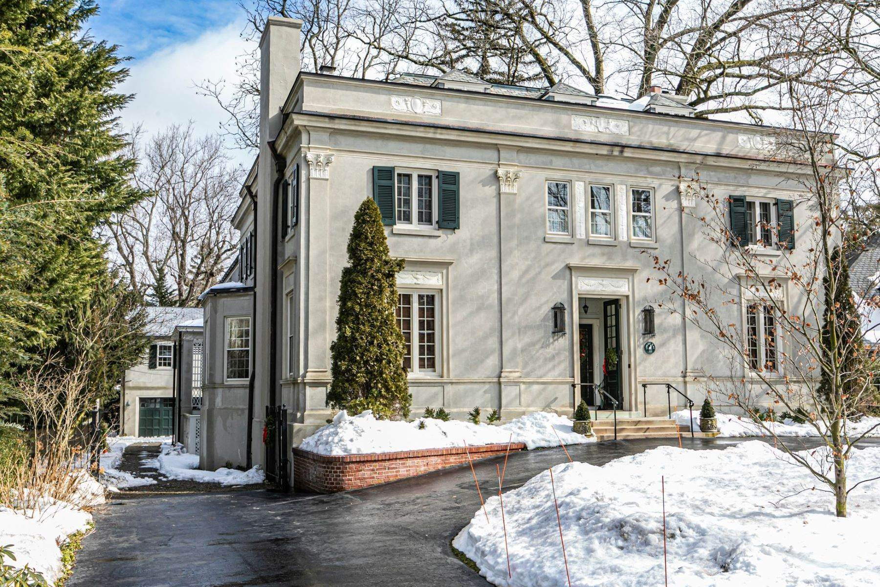 Single Family Homes for Sale at A Dignified Presence on Library Place Since 1905 101 Library Place, Princeton, New Jersey 08540 United States