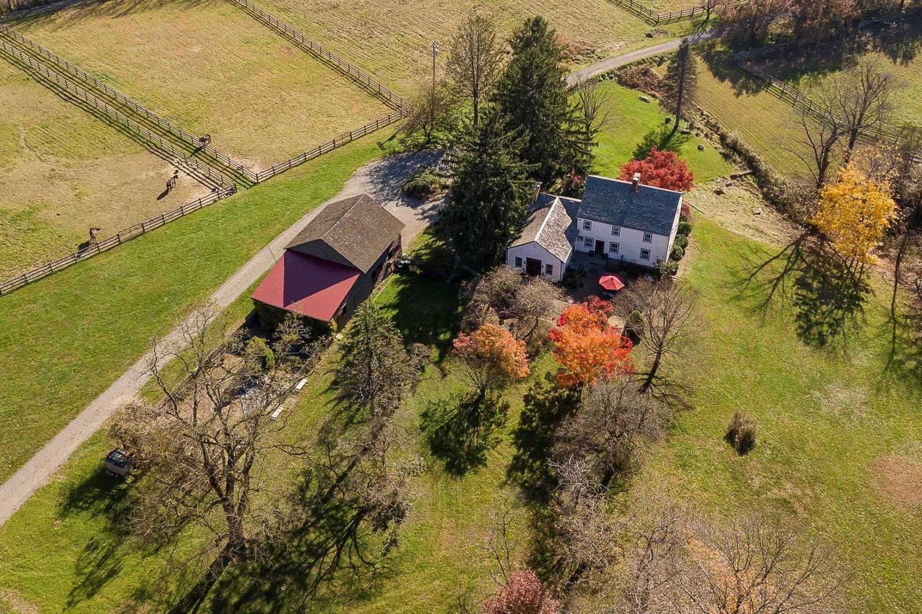 Farm and Ranch Properties for Sale at Longspring Farm: A Country Home Where Dreams Come True 172 Pleasant Valley Road, Titusville, New Jersey 08560 United States