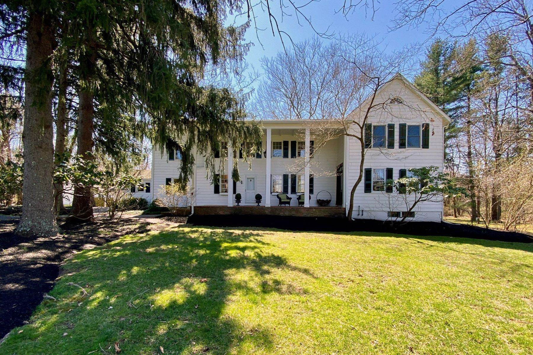 Single Family Homes for Sale at Prepare To Be Enchanted! 58 Titus Mill Road, Pennington, New Jersey 08534 United States