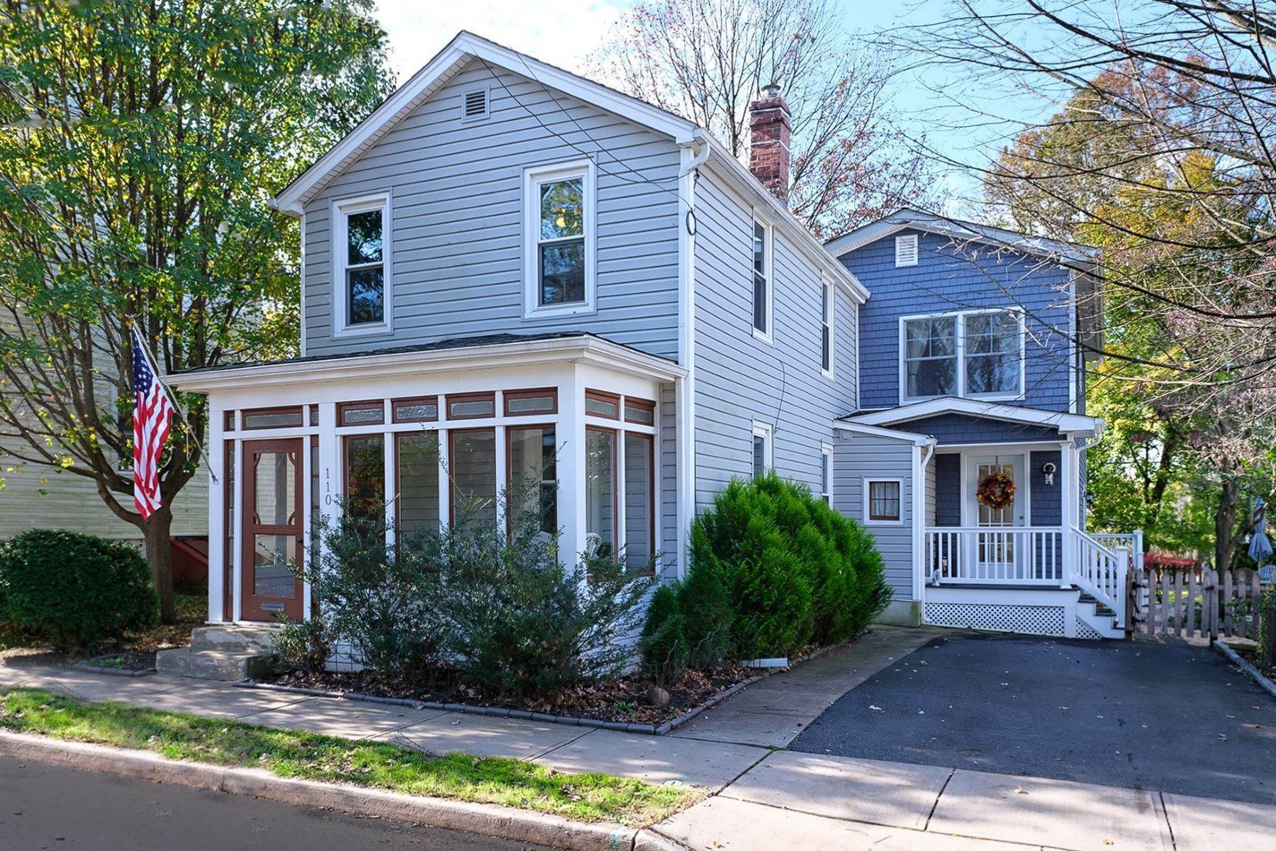 Single Family Homes for Sale at A Must-See And Much Larger Than It Looks! 110 Crawley Avenue, Pennington, New Jersey 08534 United States