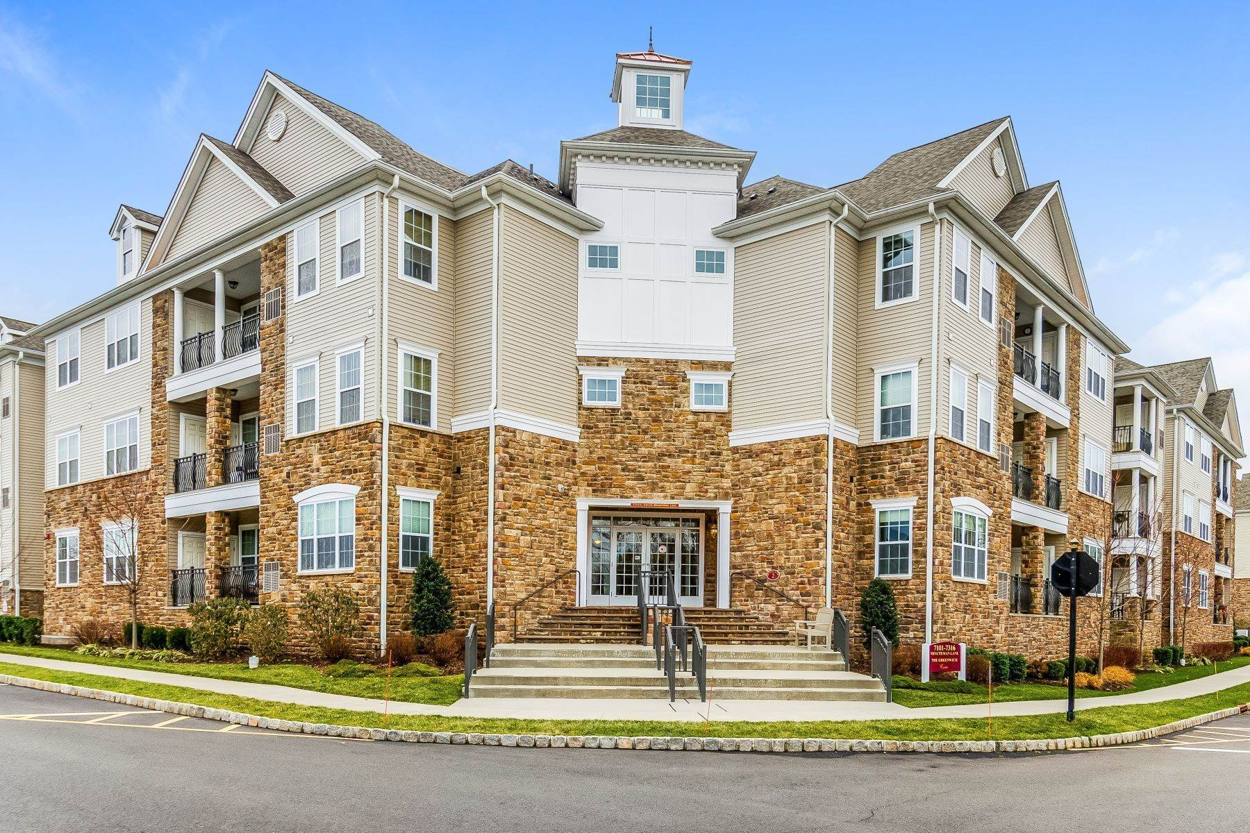 Condominiums للـ Sale في Luxury 55+ Condo With Rare, Exclusive Indoor Storage Room Included 7202 Minuteman Lane, Somerset, New Jersey 08873 United States