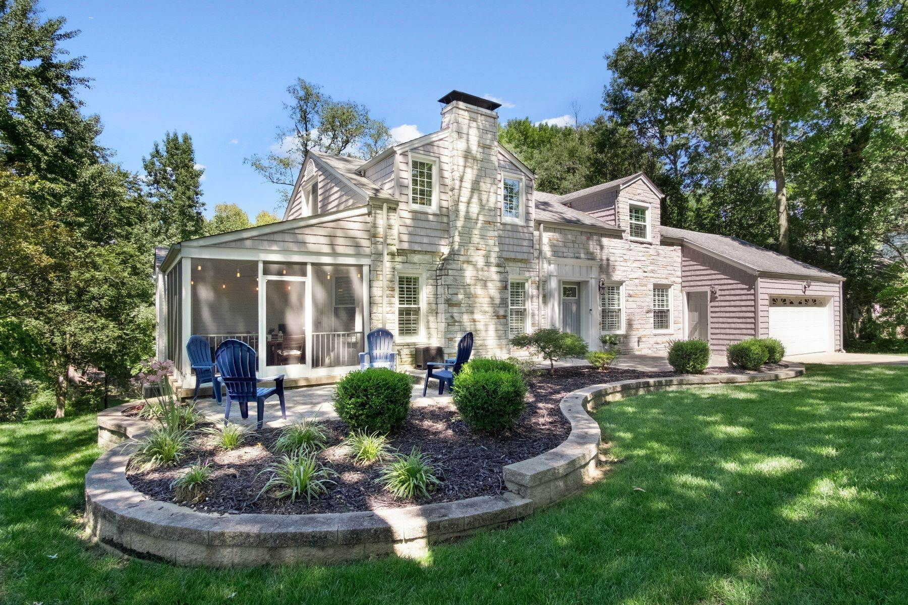 Single Family Homes for Sale at Charming Cape Cod Home In Ladue Schools 4 Chaminade Drive, Creve Coeur, Missouri 63141 United States