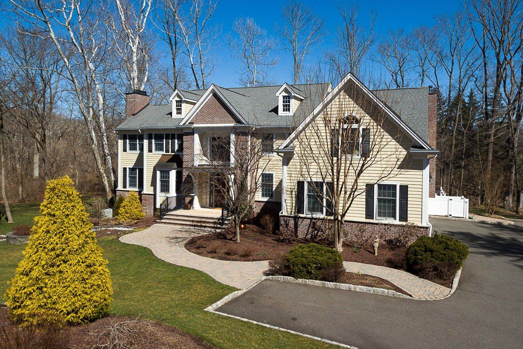 Single Family Homes for Sale at Grand Colonial in Sought-After Edgerstoune 317 Edgerstoune Road, Princeton, New Jersey 08540 United States