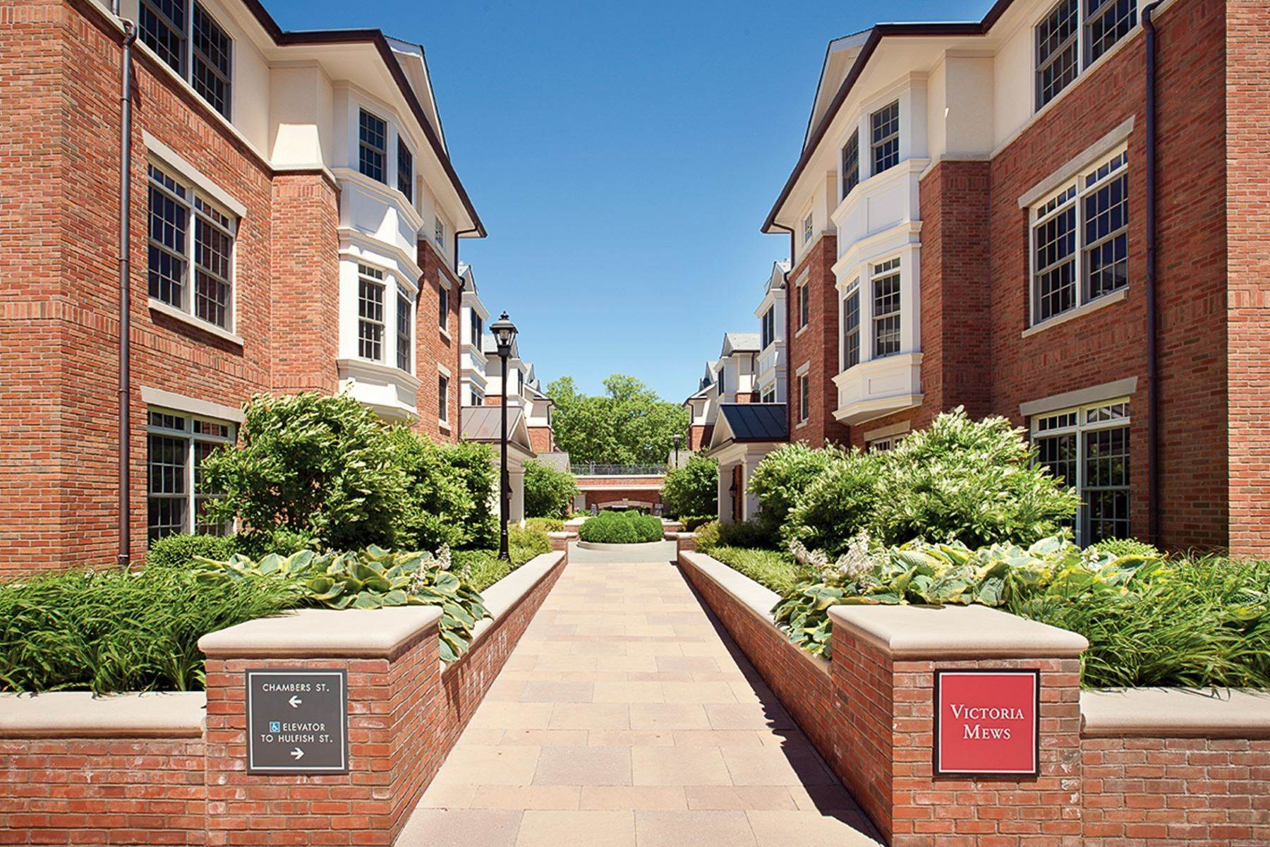 Condominiums for Sale at Luxury Condominium in Downtown Princeton 113 Victoria Mews, Princeton, New Jersey 08542 United States