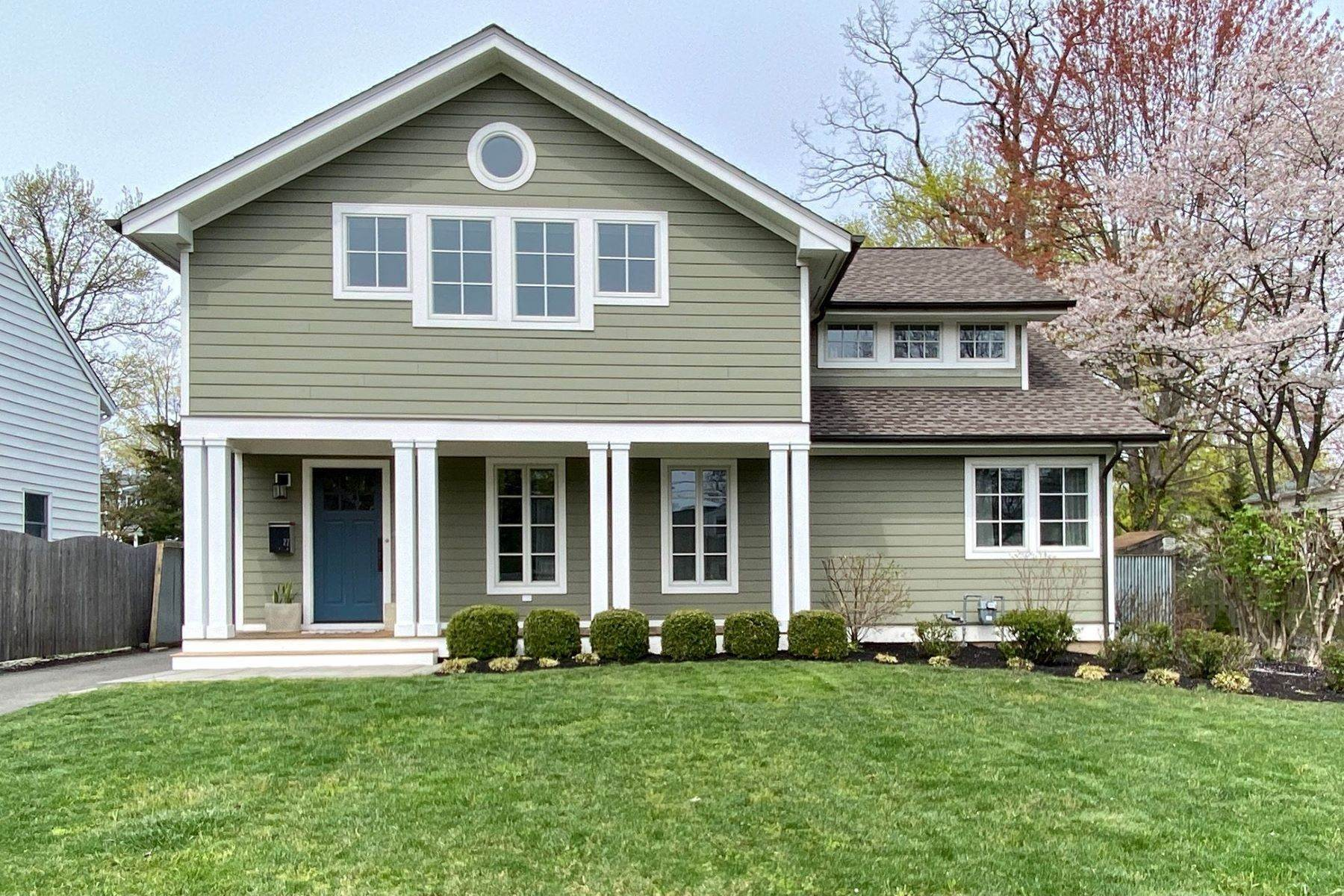 Single Family Homes for Sale at A Modern Transformation by Mercer General Works 22 Fisher Avenue, Princeton, New Jersey 08540 United States