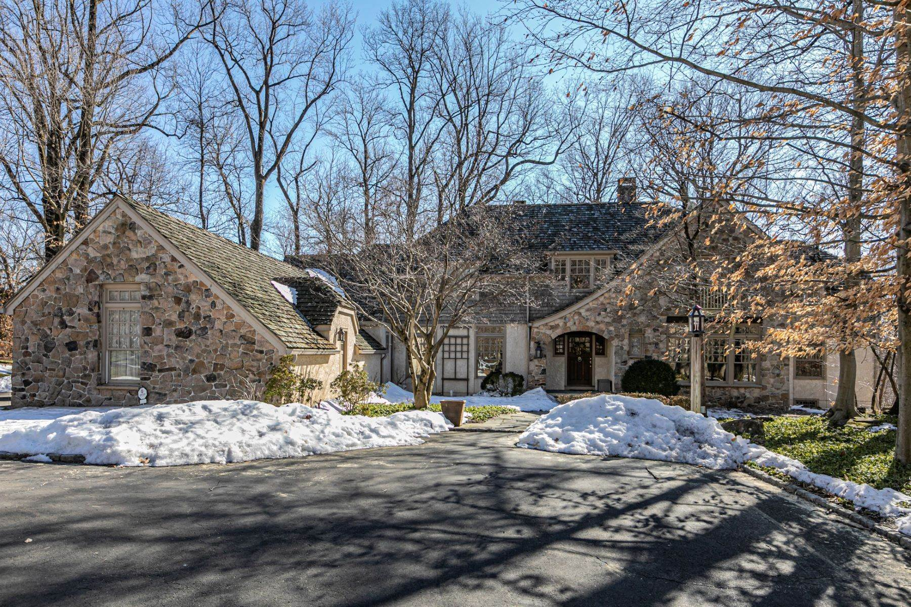 Single Family Homes for Sale at Arts and Crafts Showplace in The Preserve 36 Oakridge Court, Princeton, New Jersey 08540 United States