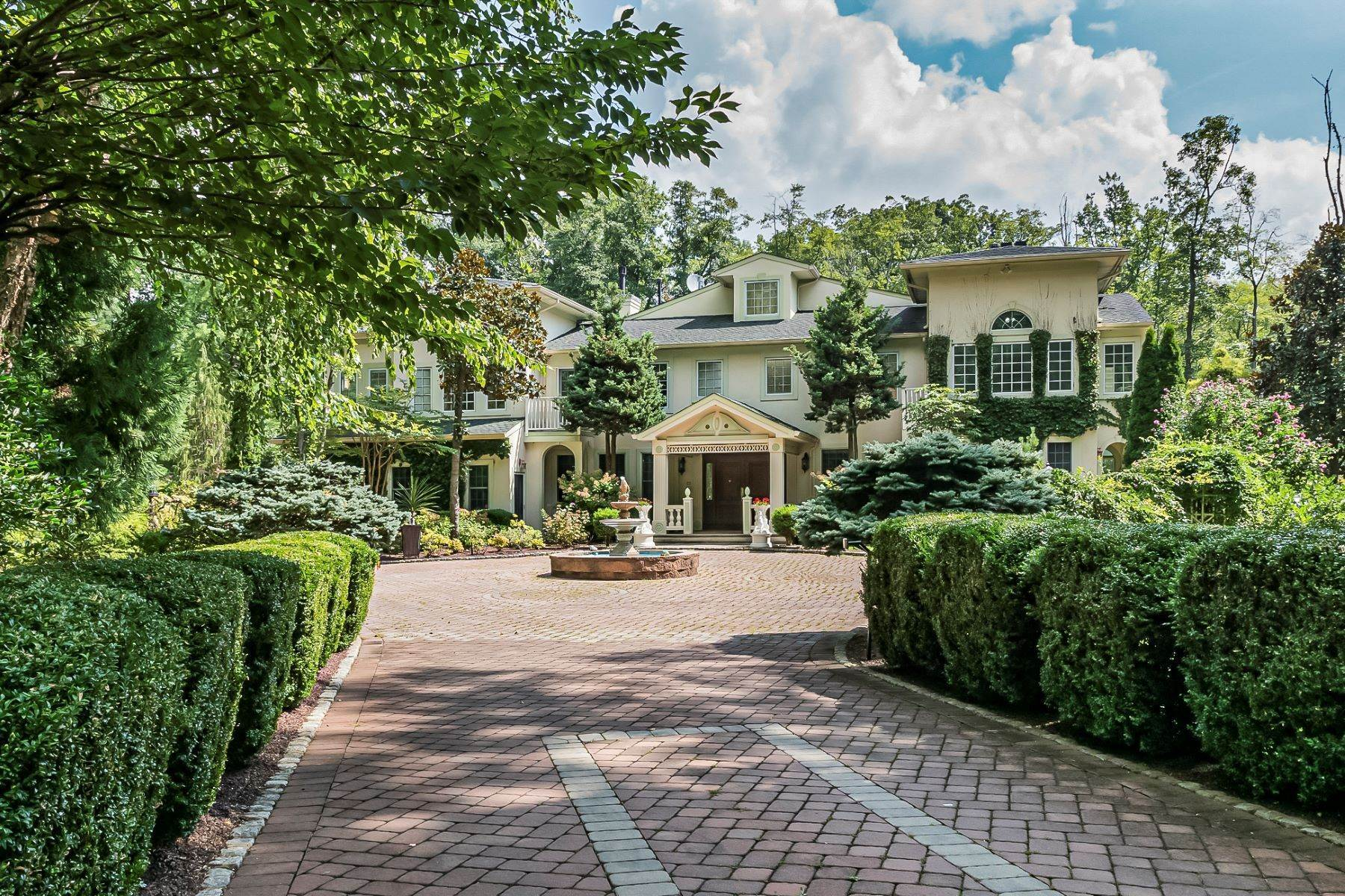 2. Single Family Homes for Sale at A Sprawling Showplace Where East Meets West 76 Pettit Place, Princeton, New Jersey 08540 United States