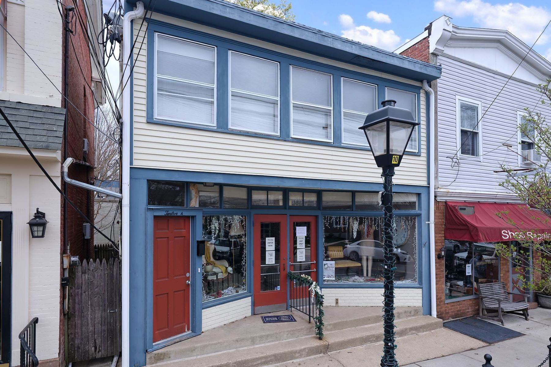 Property for Sale at Two Multi-Use Buildings In The Heart Of Pennington 12 North Main Street, Pennington, New Jersey 08534 United States