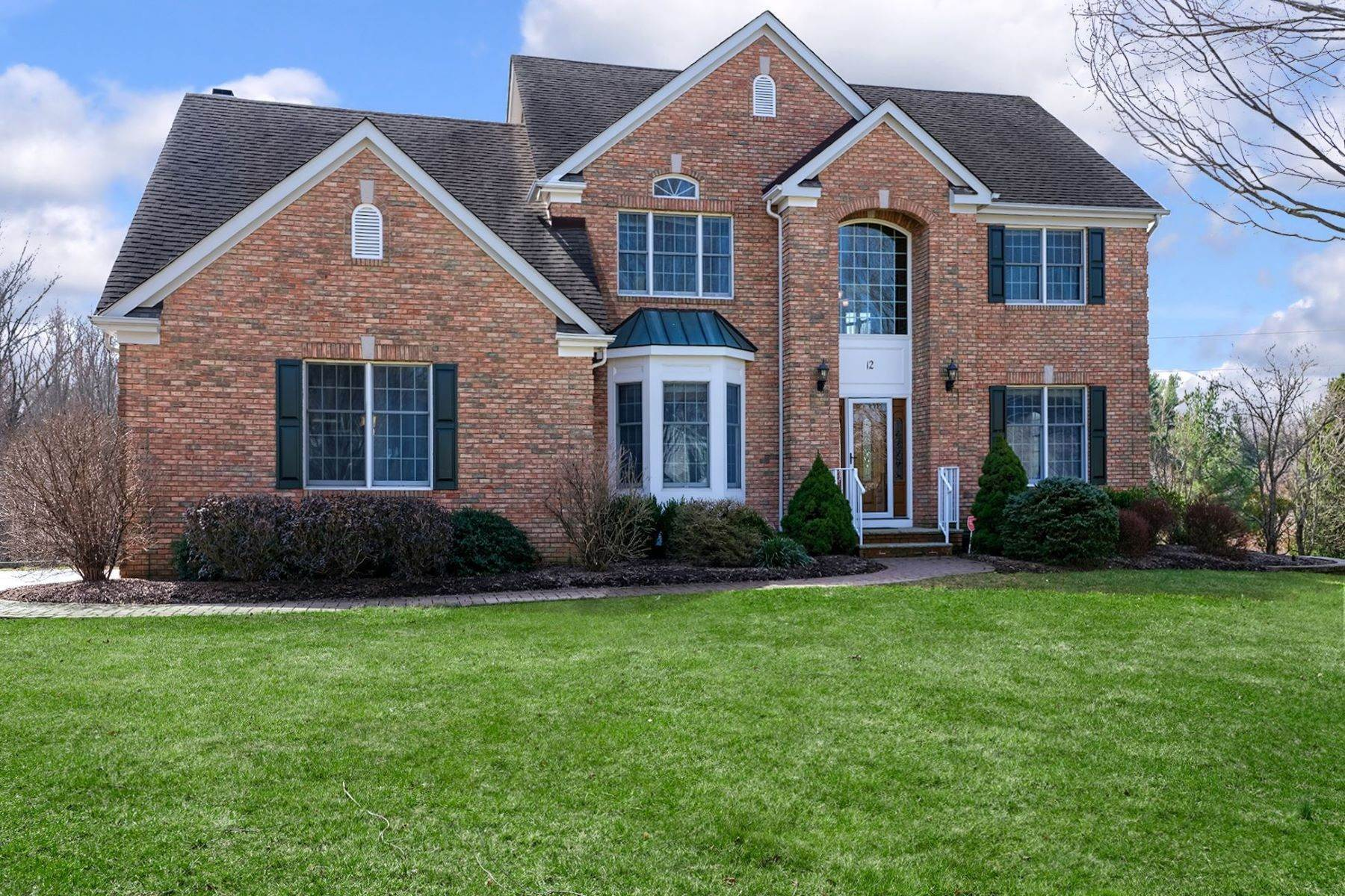 Single Family Homes for Sale at An Entertainer's Floor Plan 12 Regents Court, Belle Mead, New Jersey 08502 United States
