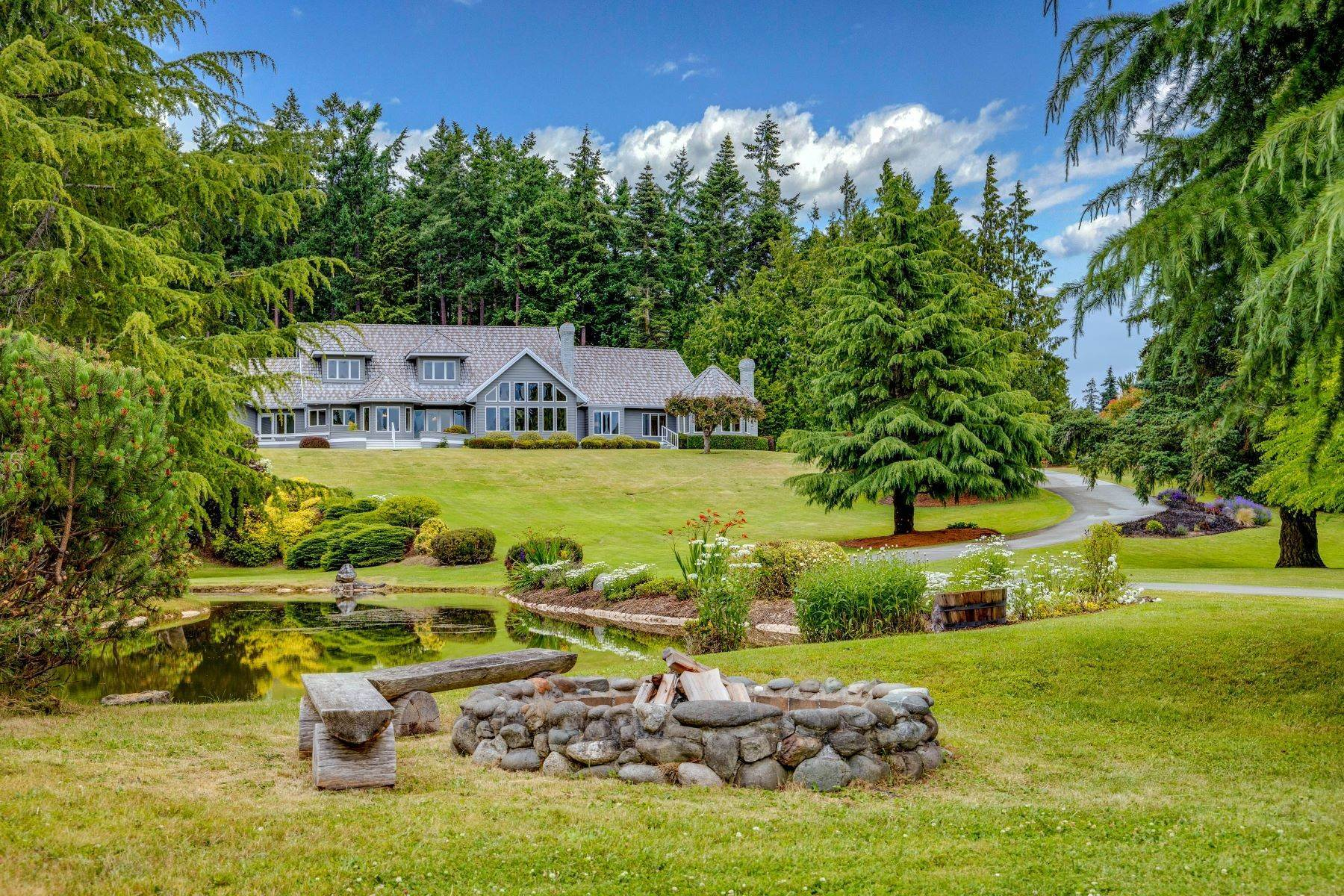 Single Family Homes 용 매매 에 4949 Woodcock Road, Sequim, WA 98382 Sequim, 워싱톤 98382 미국
