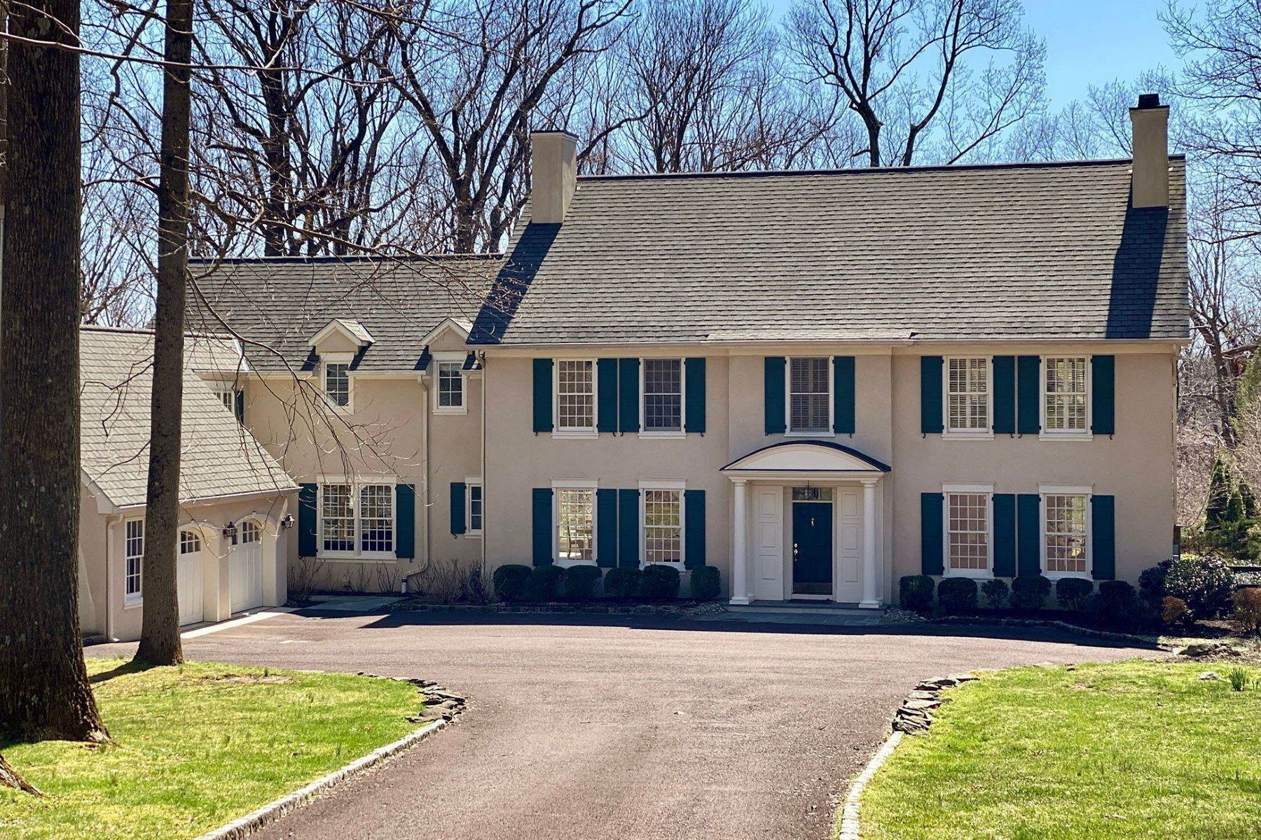 Single Family Homes for Sale at Spacious, Sunlit Rooms Overlook a Glorious Poolscape 33 Bogart Court, Princeton, New Jersey 08540 United States